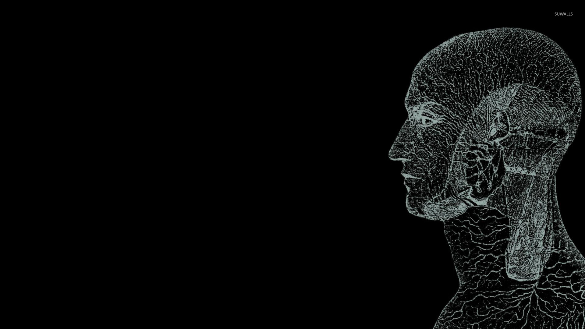 Deus Ex Human Revolution Quotes Wallpaper Human Silhouette Wallpaper Artistic Wallpapers 19105