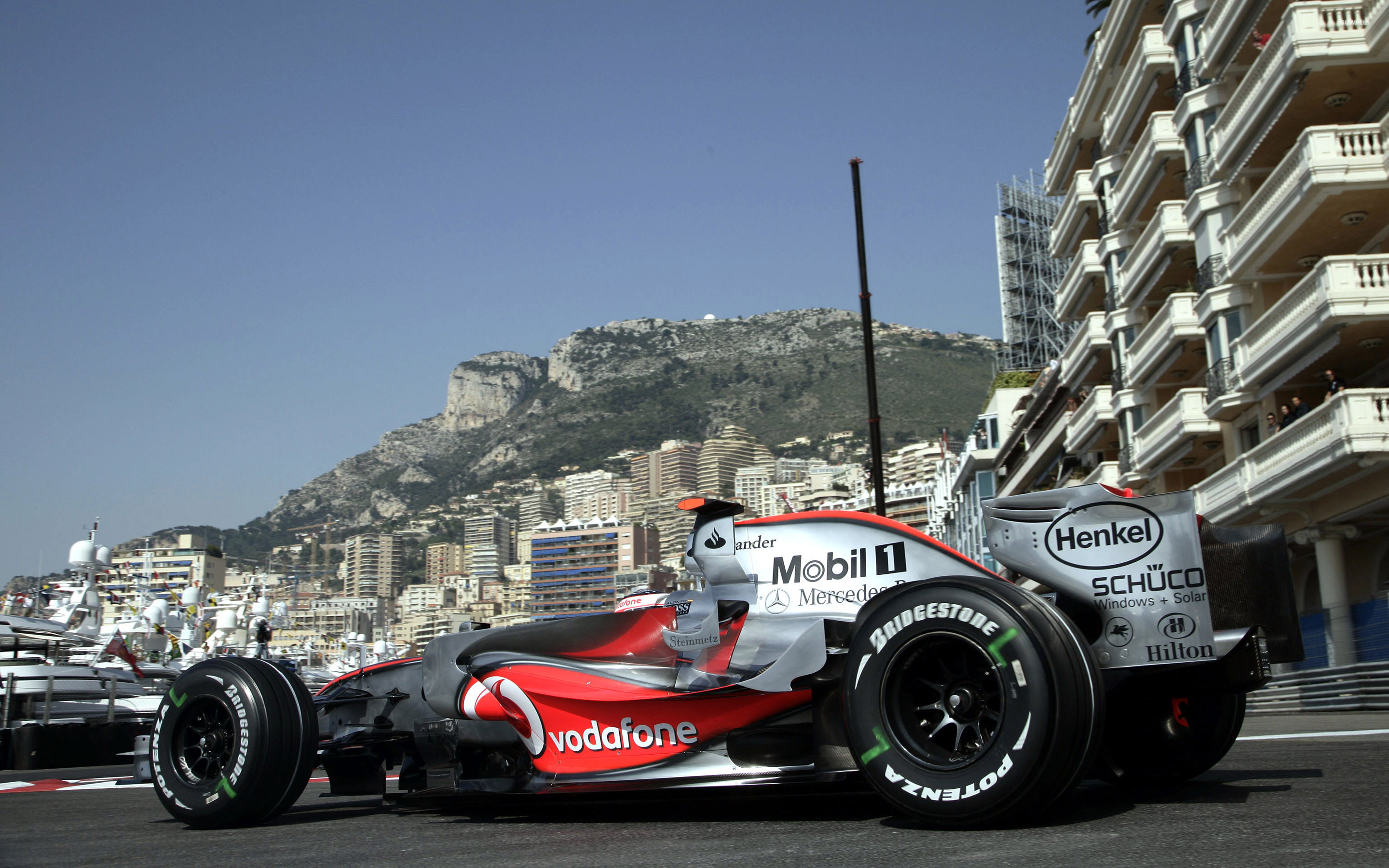 Mercedes Sports Cars Wallpapers F1 Monaco Wallpaper Car Wallpapers 30253