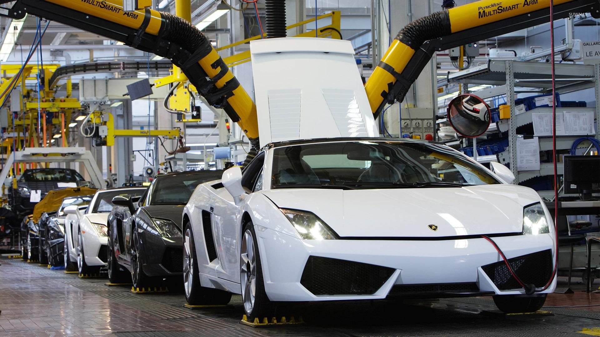 Benz Car Wallpapers Free Download Lamborghini Assembly Line Wallpaper Car Wallpapers 33020