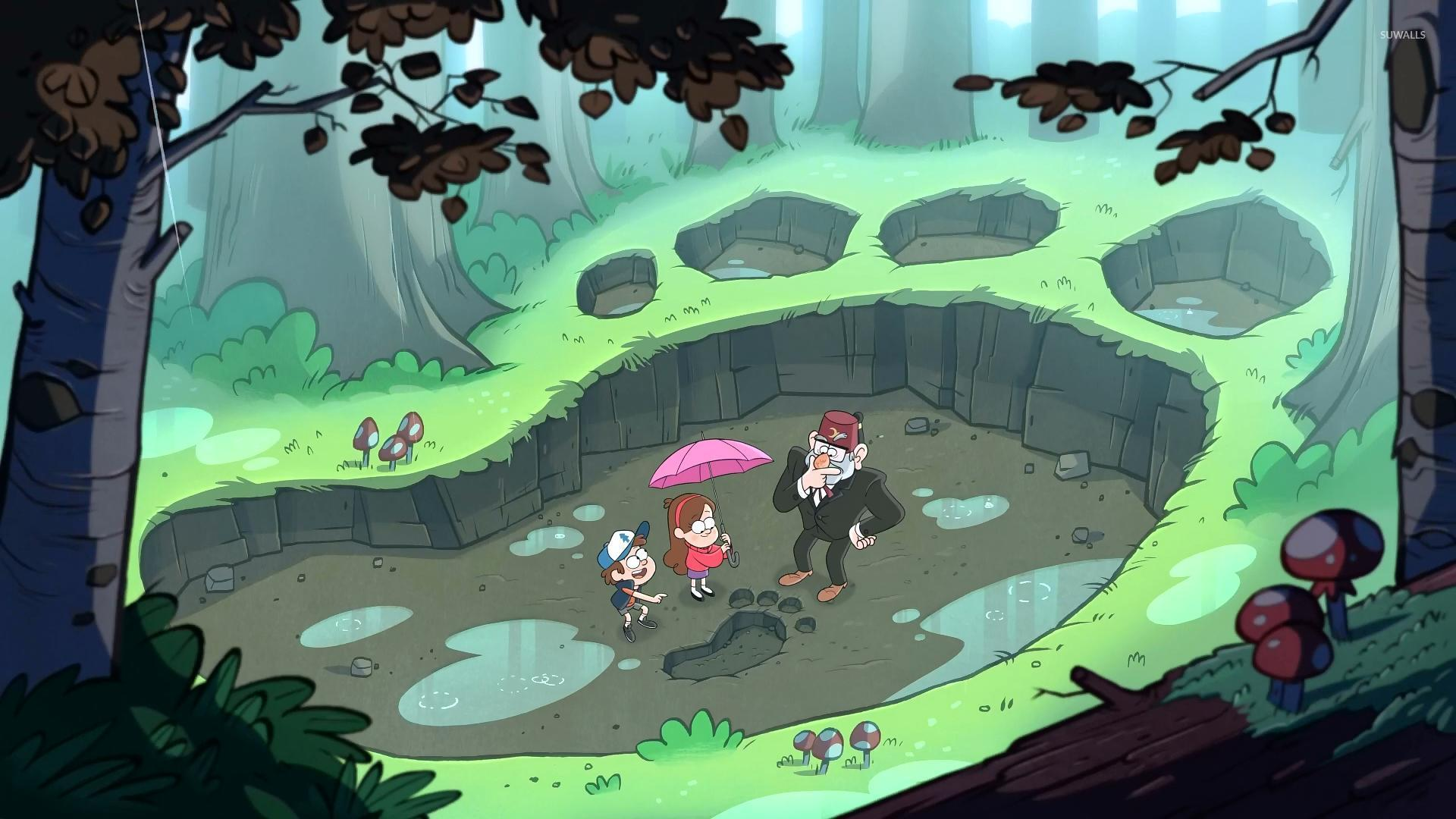 Gravity Falls Wallpaper Ipad Gravity Falls 4 Wallpaper Cartoon Wallpapers 26407