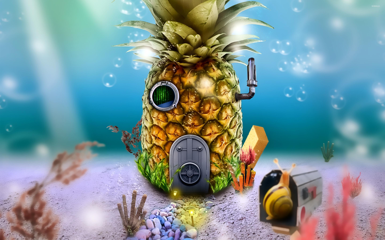 Gravity Falls 4k Wallpaper Spongebob S House Wallpaper Cartoon Wallpapers 24654