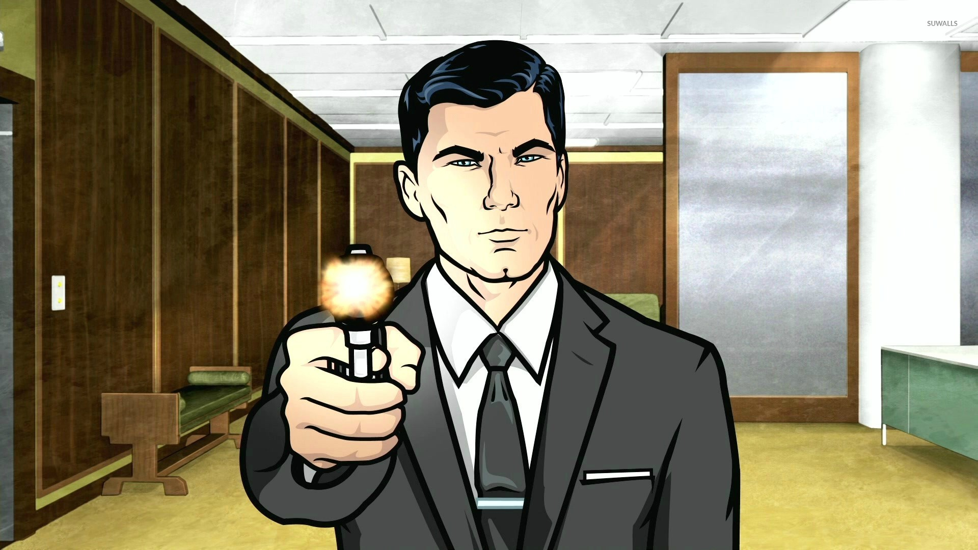 Free Download Wallpapers Of Friendship Quotes Sterling Archer Wallpaper Cartoon Wallpapers 28635