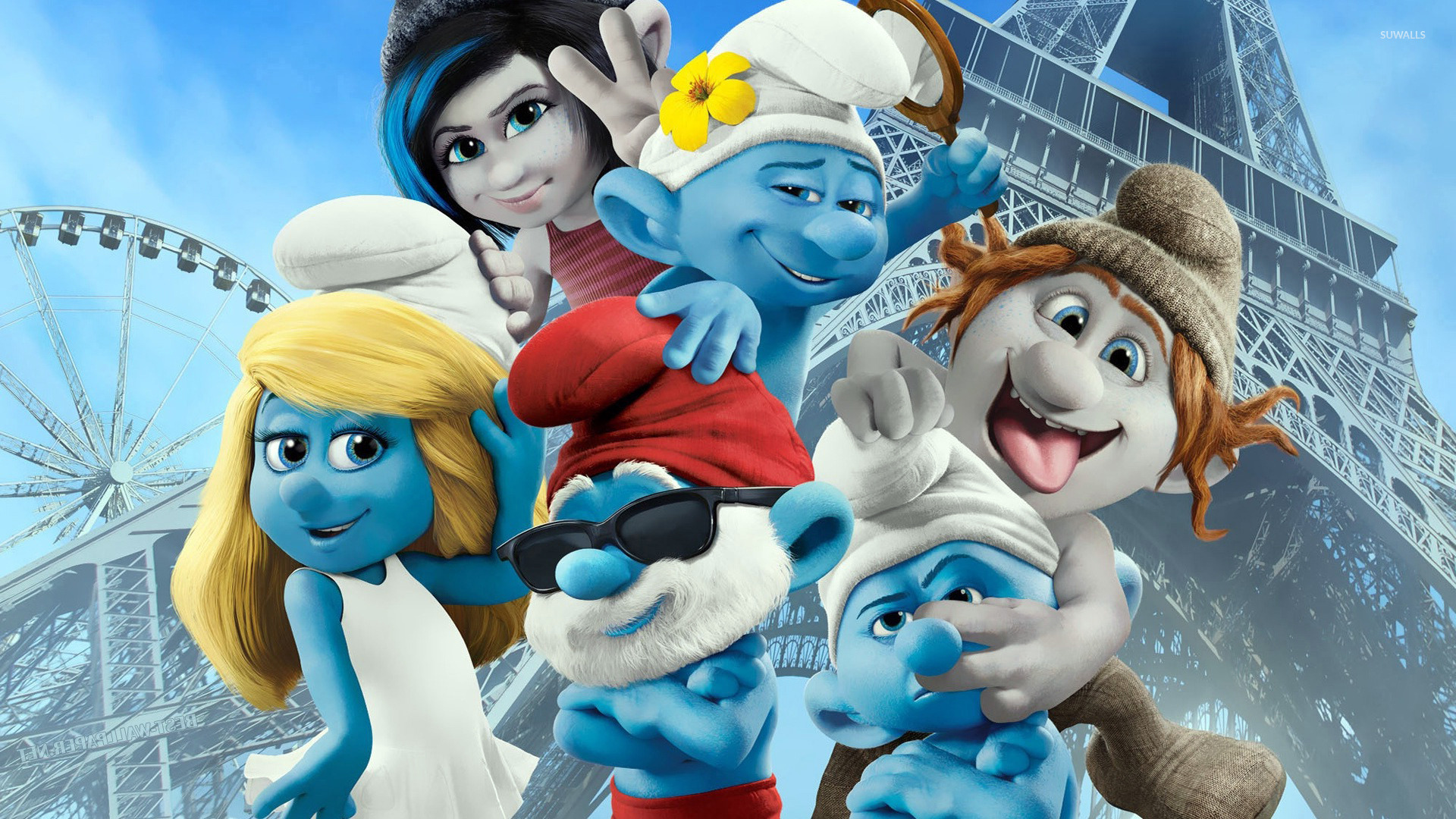 Free Friendship Quotes Wallpapers The Smurfs 2 Wallpaper Cartoon Wallpapers 22465