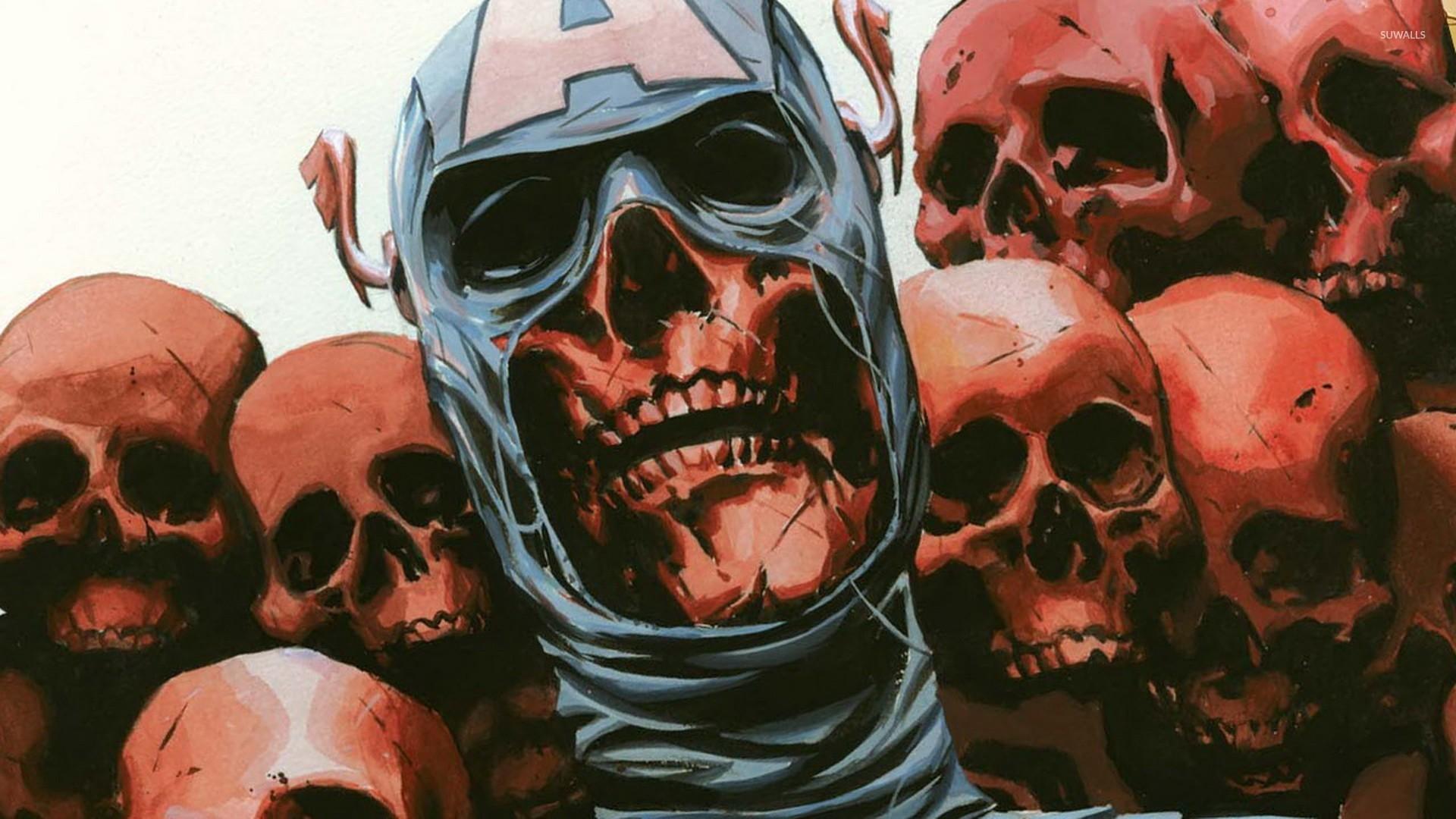 Batman Joker Quotes Hd Wallpapers Captain America In Onslaught Reborn Wallpaper Comic