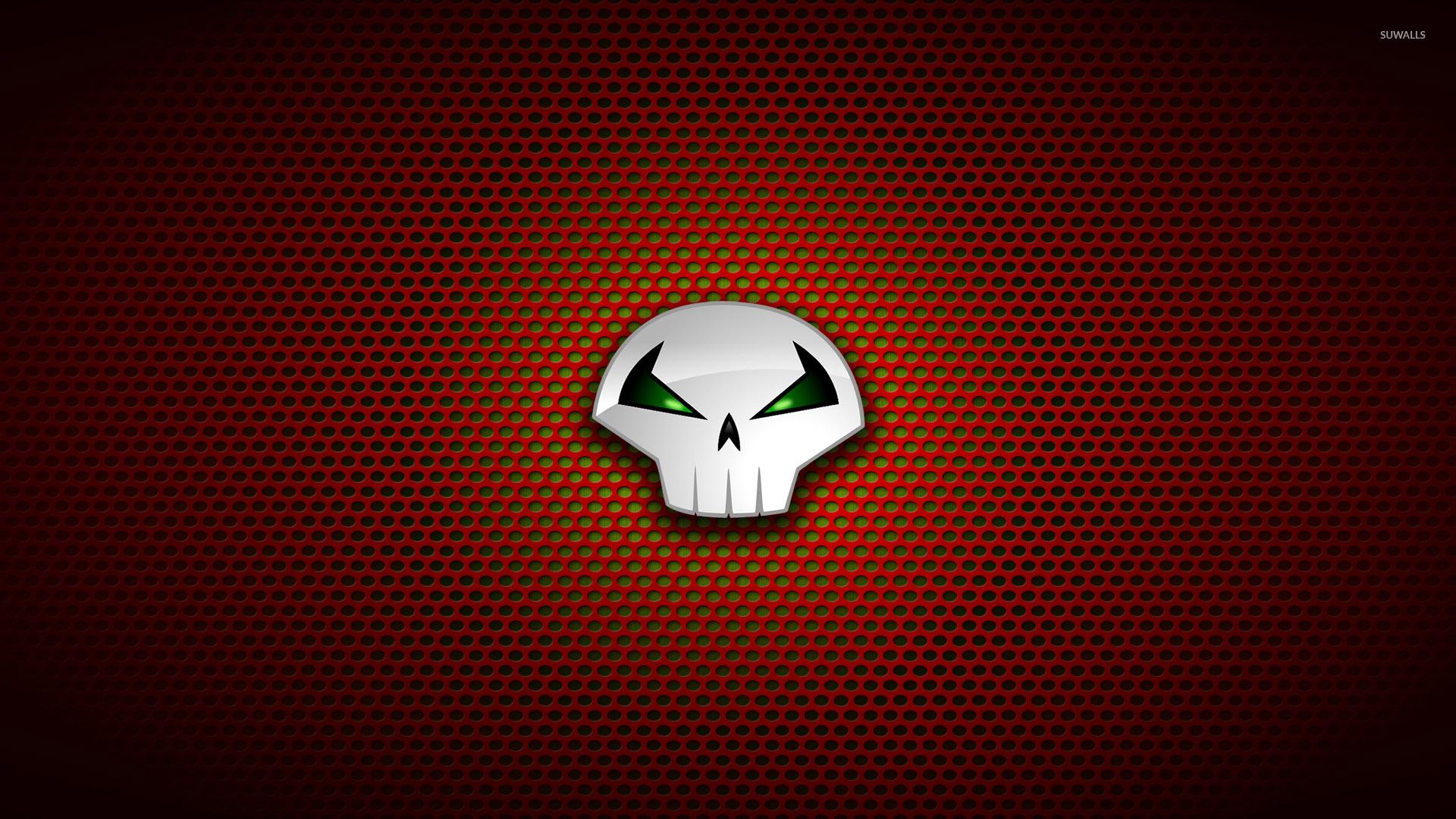 Joker Quotes Wallpaper Hd Punisher Logo On Circle Pattern Wallpaper Comic