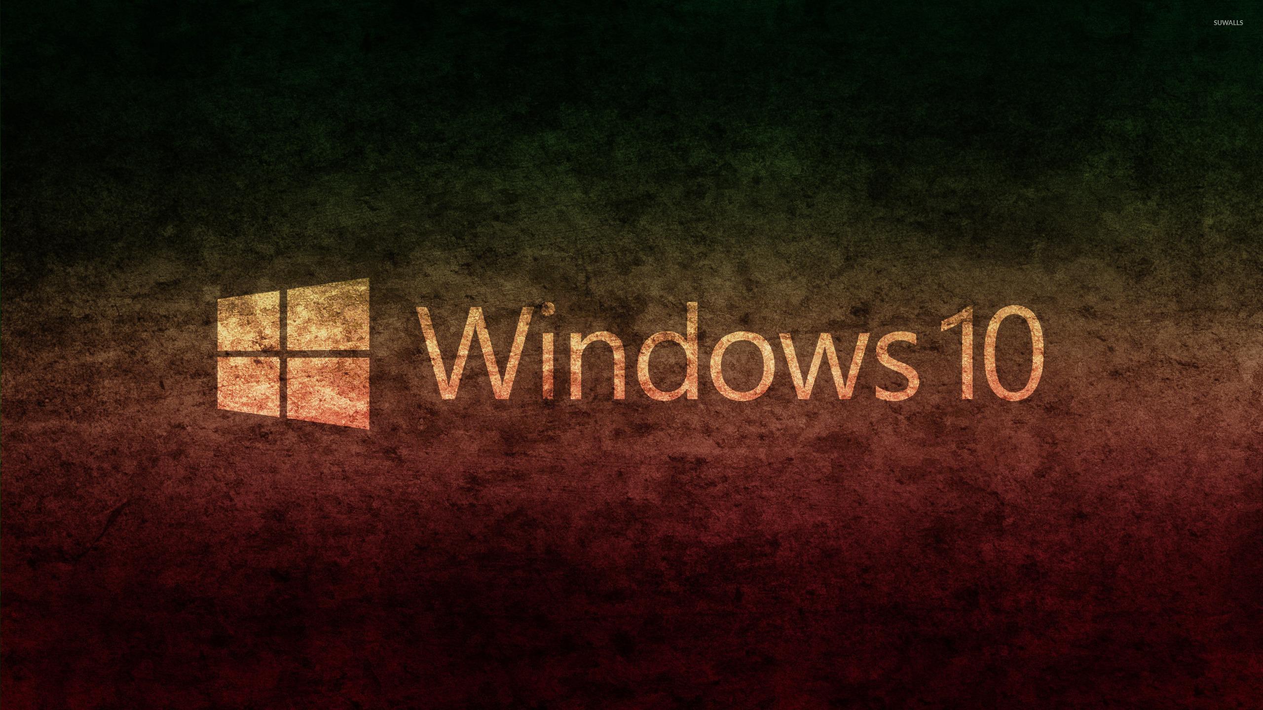4k Laptop Wallpaper Fall Forest Windows 10 Transparent Text Logo On Concrete Wallpaper