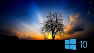 Windows 10 in the twilight [2] wallpaper - Computer wallpapers - #48498
