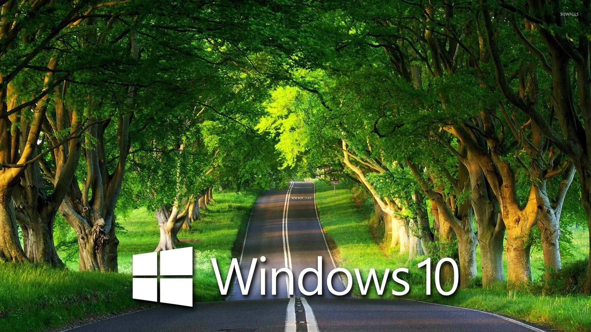 Superb Wallpapers With Quotes Windows 10 Over The Country Road 4 Wallpaper Computer