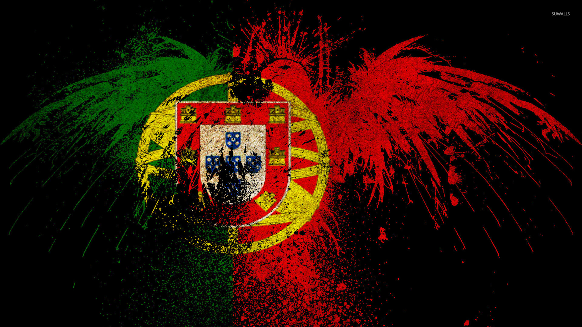 Country Quotes Phone Wallpaper Flag Of Portugal Wallpaper Digital Art Wallpapers 38864