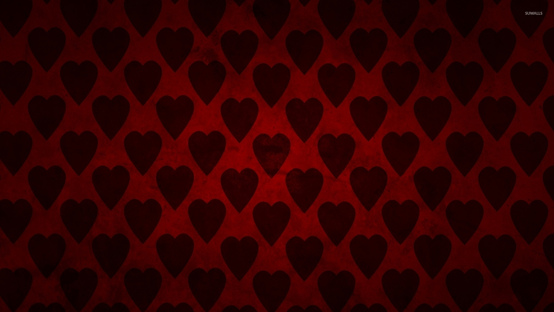 Fall Mountain Lake Wallpaper Red Hearts Wallpaper Digital Art Wallpapers 33984