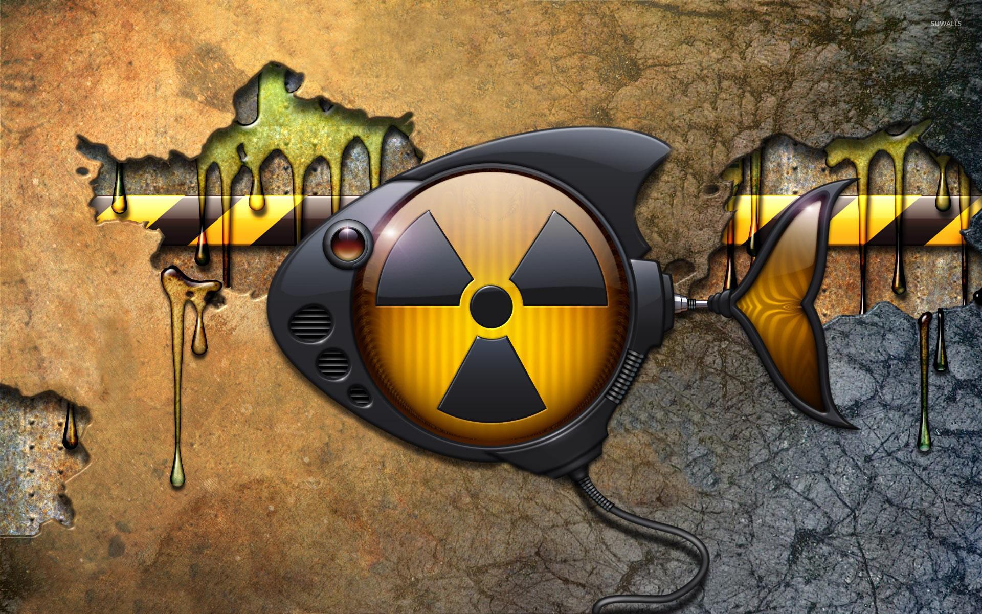 Danger 3d Wallpaper Download Toxic Robot Fish Wallpaper Digital Art Wallpapers 21505