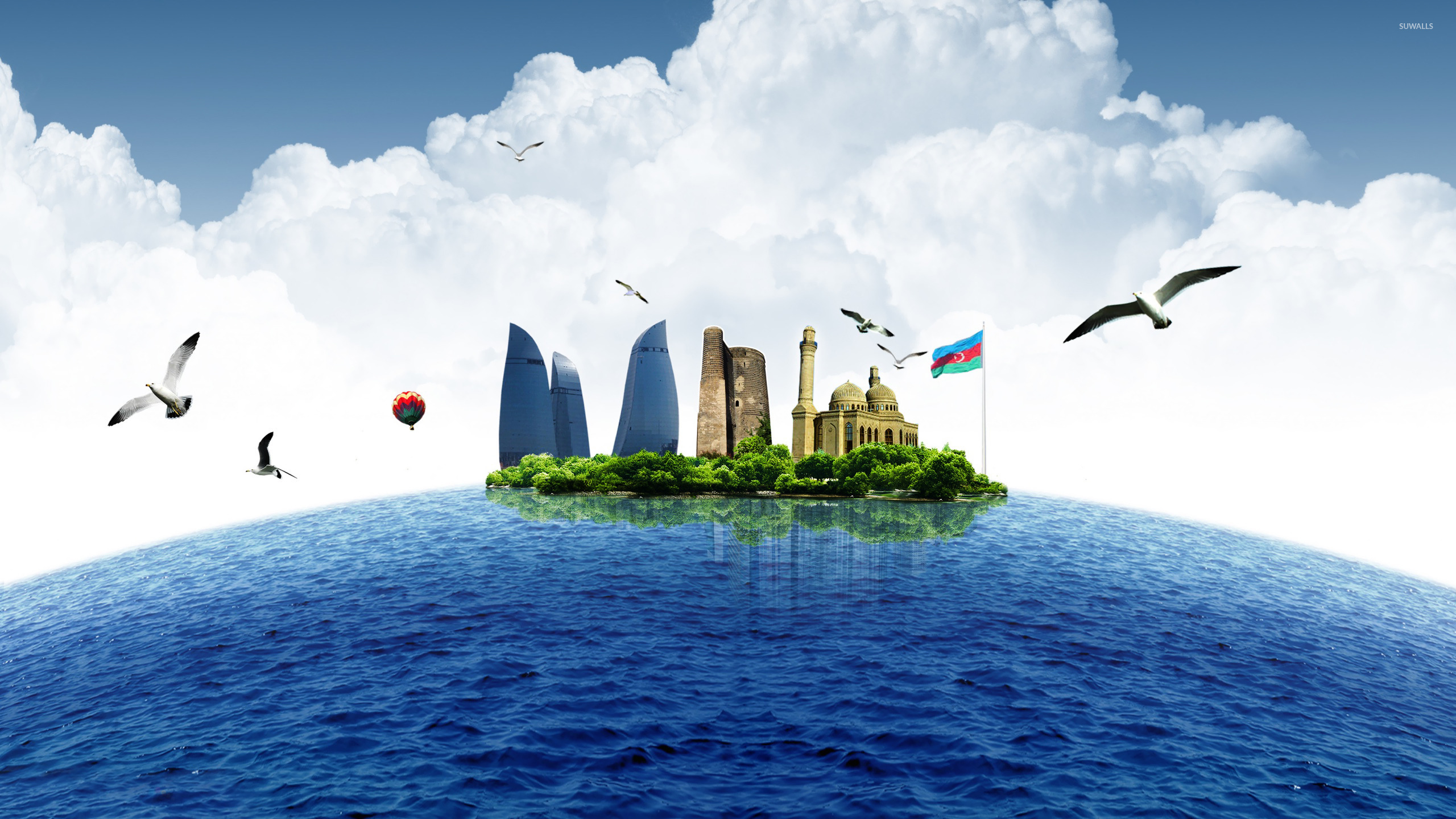 Simple Quotes Wallpaper Baku As An Island Wallpaper Fantasy Wallpapers 23194