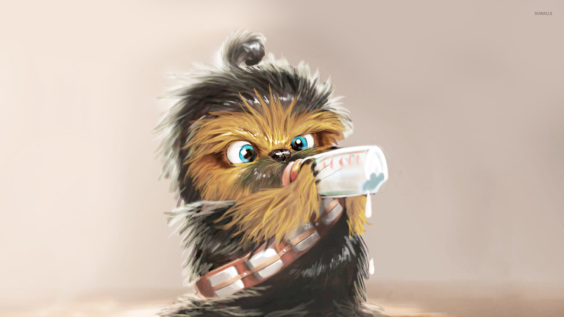 Princess Quotes Wallpaper Baby Chewbacca Wallpaper Funny Wallpapers 15023