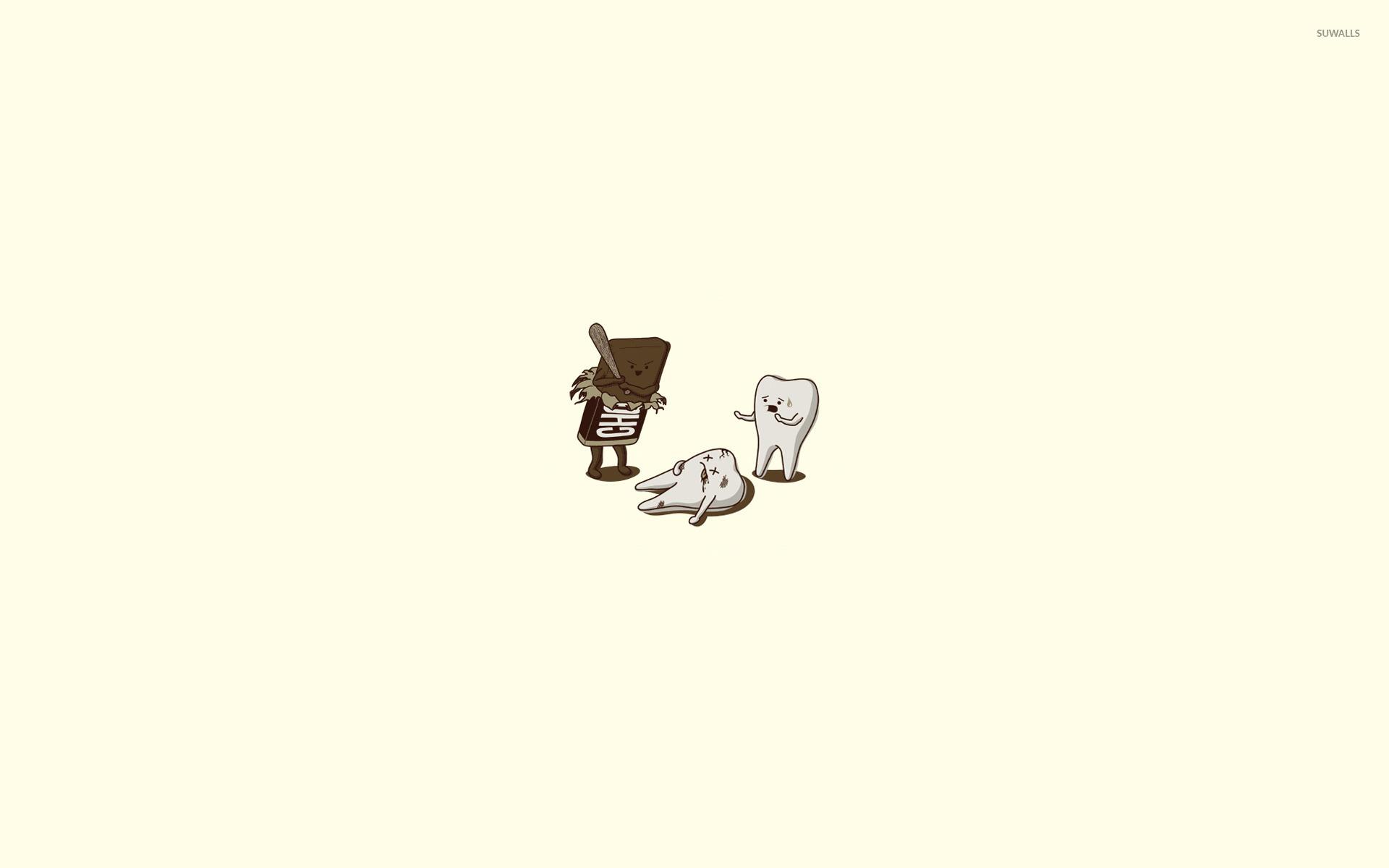Cow Wallpaper Cute Chocolate Vs Teeth Wallpaper Funny Wallpapers 15223