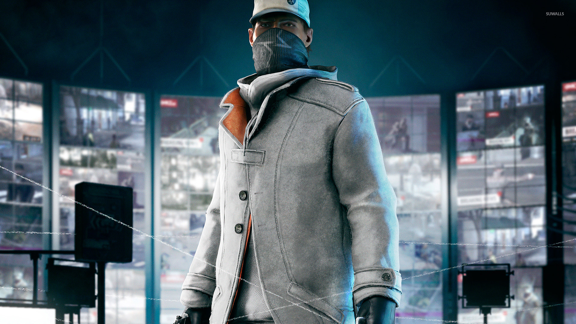 Hd Quotes Wallpapers For Windows 7 Aiden Pearce Watch Dogs 4 Wallpaper Game Wallpapers