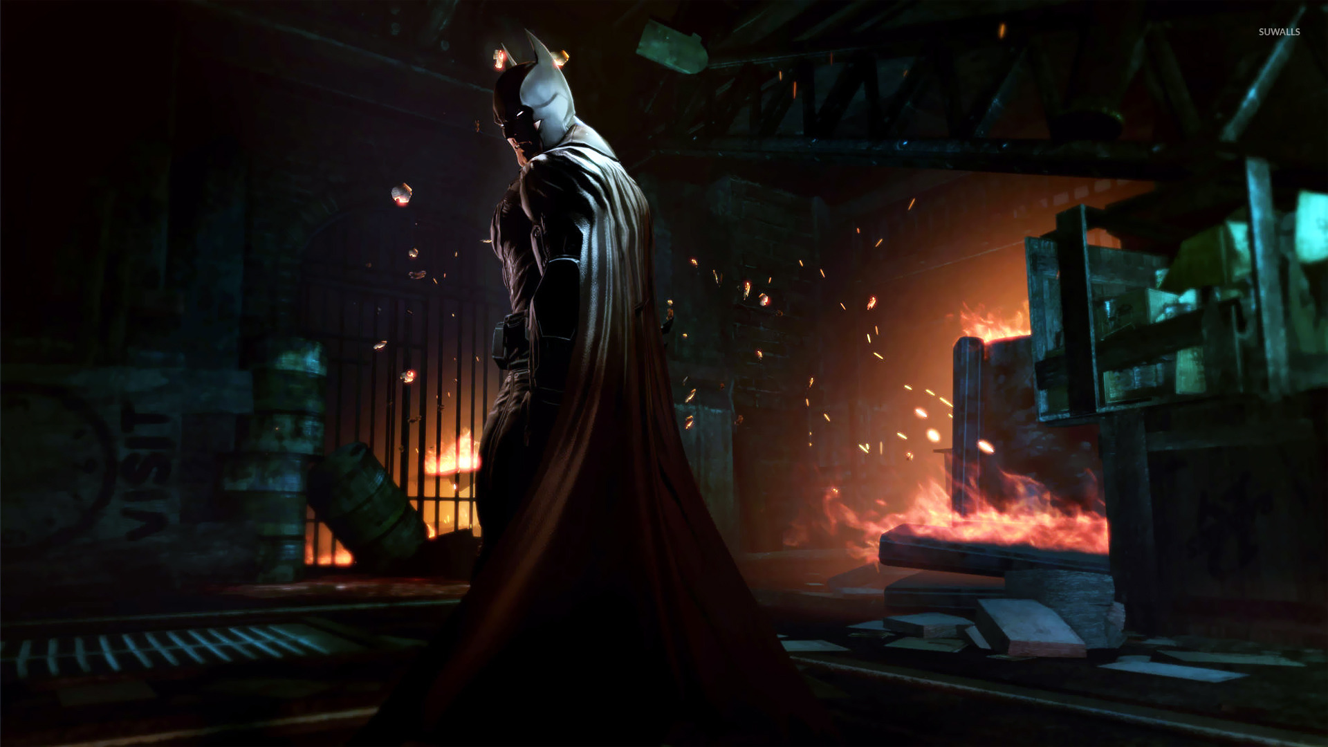 40k Quotes Wallpapers Batman Arkham Origins 7 Wallpaper Game Wallpapers
