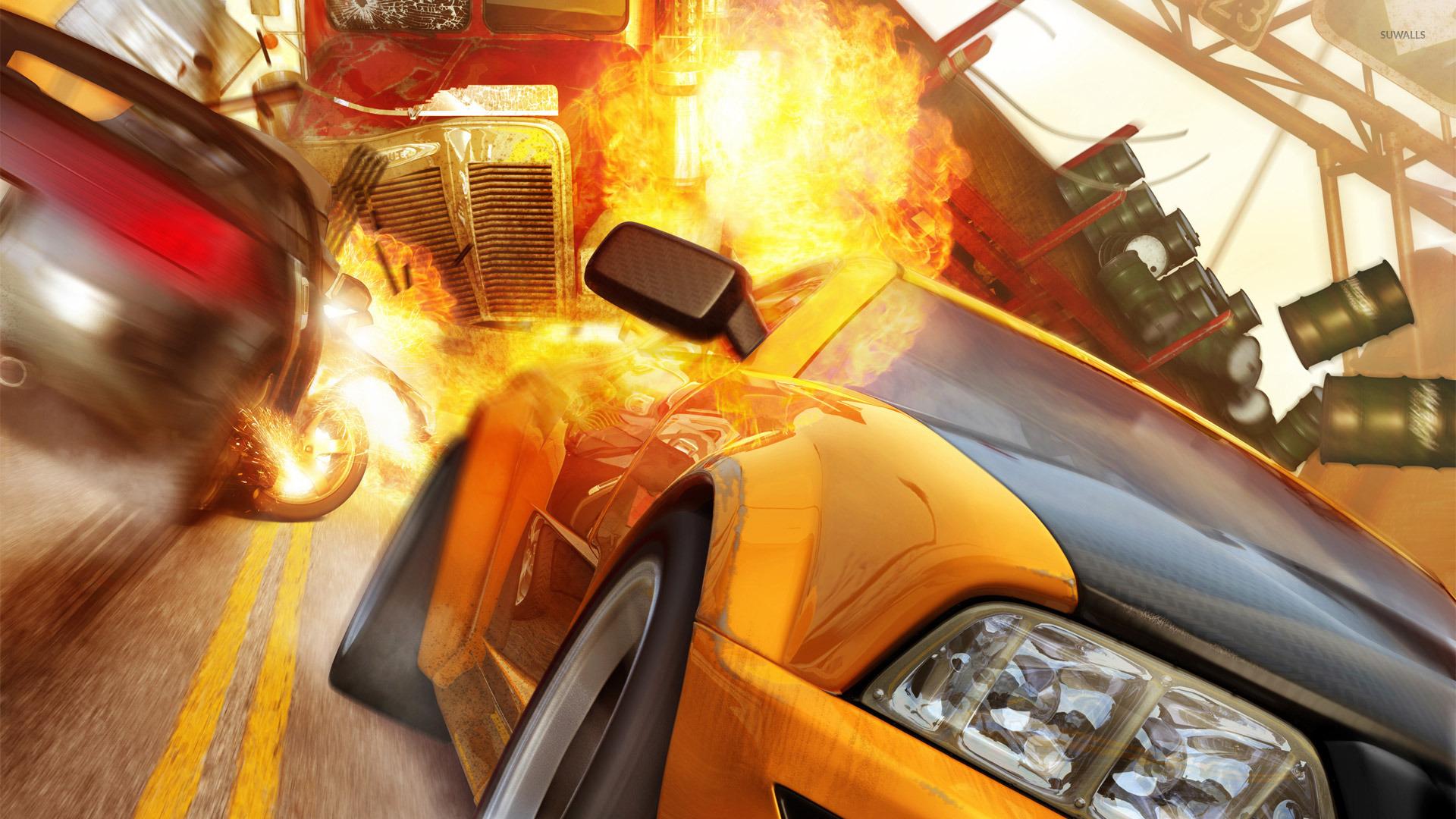 Lamborghini Car Hd Wallpaper Free Download Burnout Revenge Wallpaper Game Wallpapers 31367