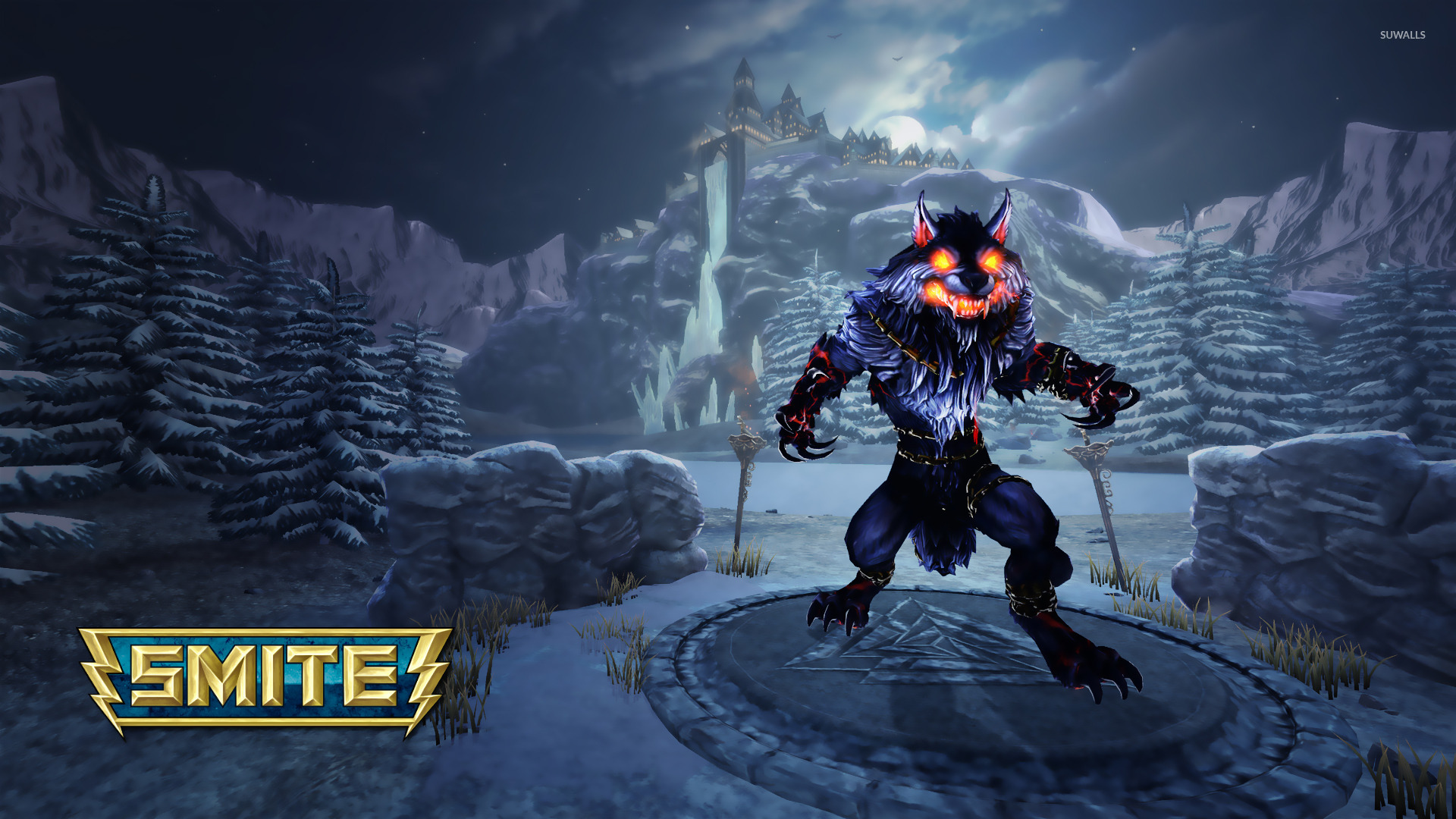 40k Quotes Wallpapers Fenrir Smite 2 Wallpaper Game Wallpapers 22381