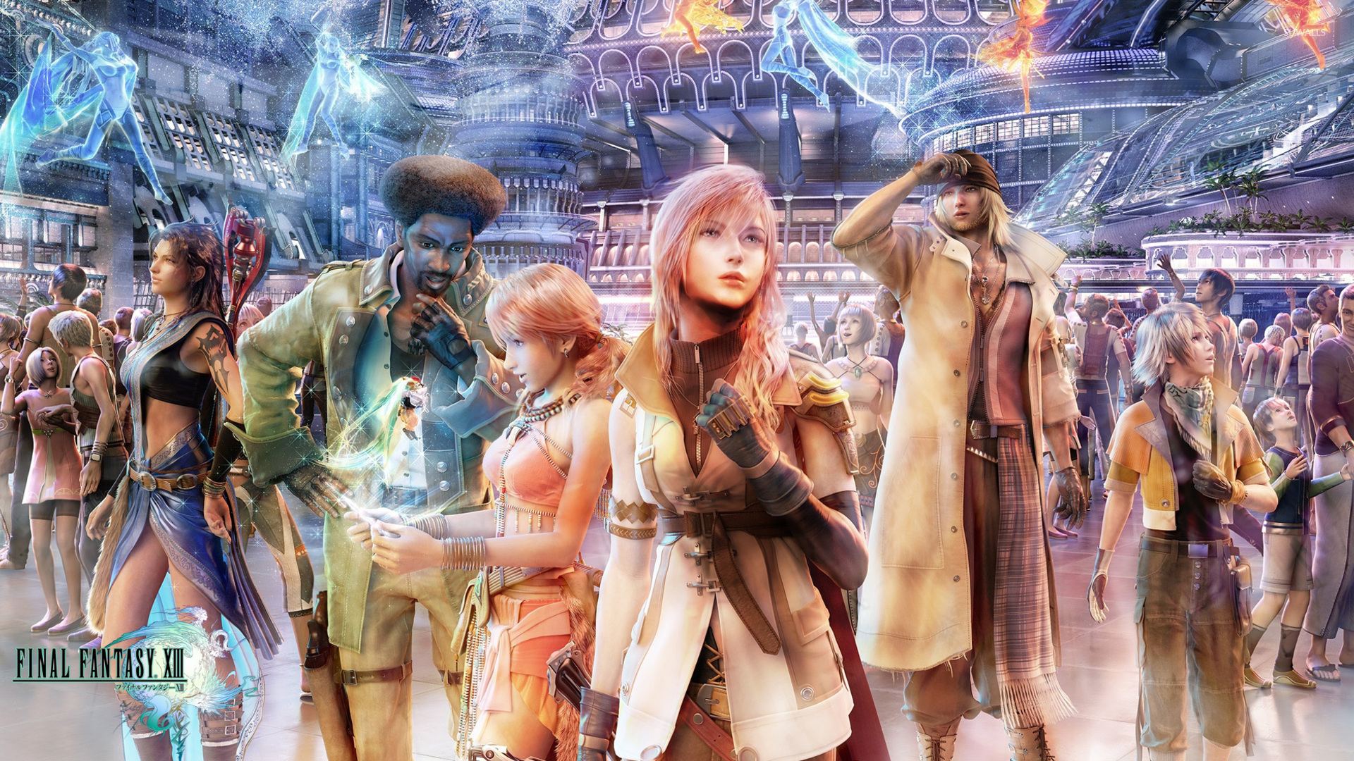40k Quotes Wallpapers Final Fantasy Xiii Wallpaper Game Wallpapers 2490