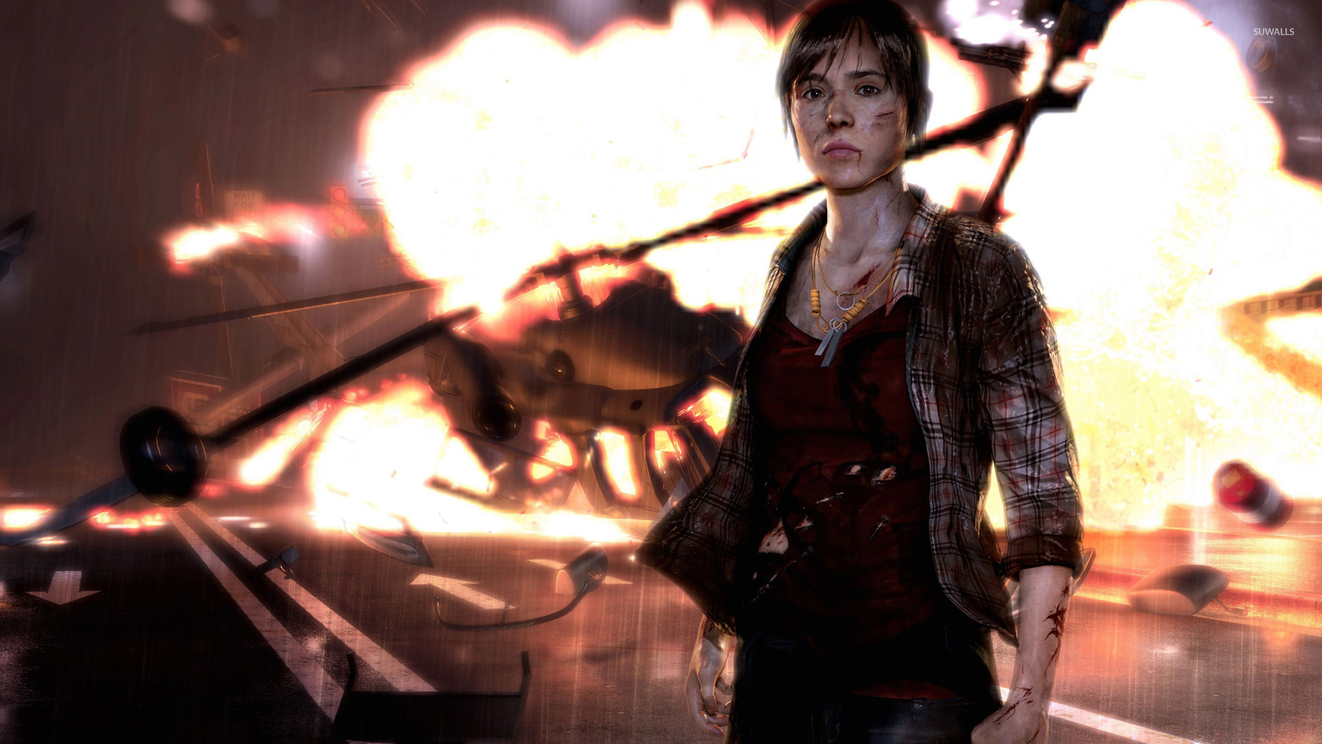 Rain Wallpapers With Quotes Hd Jodie Holmes Beyond Two Souls 6 Wallpaper Game