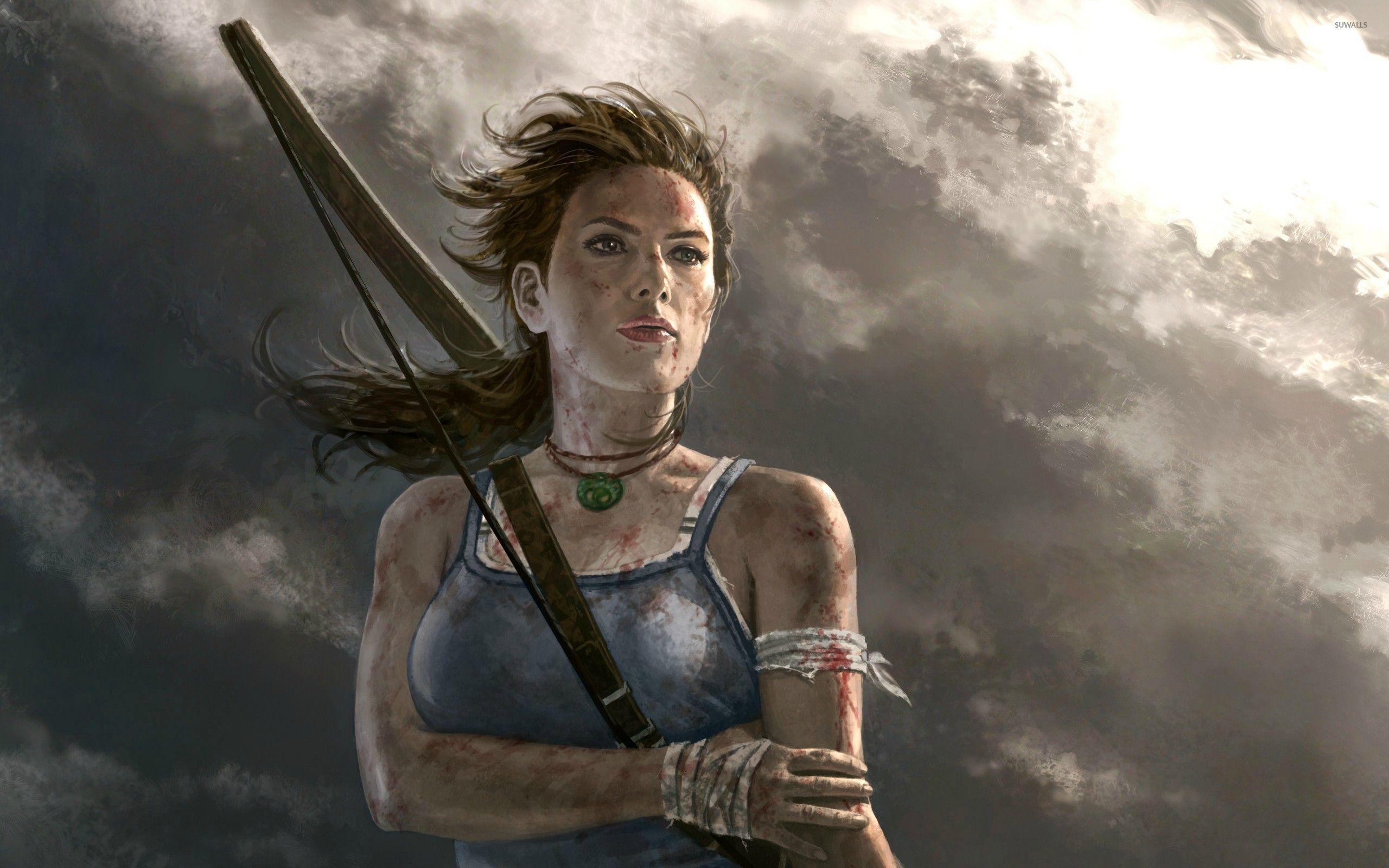 Broken Hearted Girl Wallpaper Lara Croft Tomb Raider 10 Wallpaper Game Wallpapers