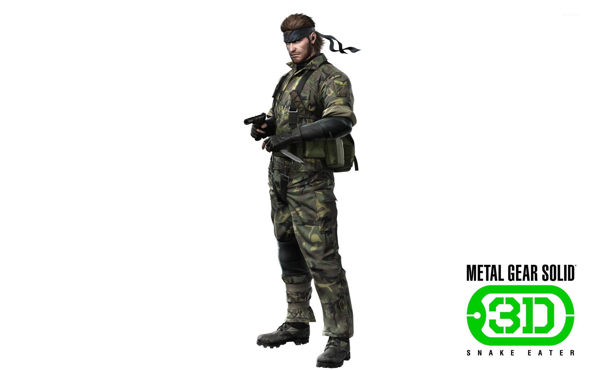 Animal Wild Wallpaper Hd 3d Metal Gear Solid Snake Eater 3d 5 Wallpaper Game