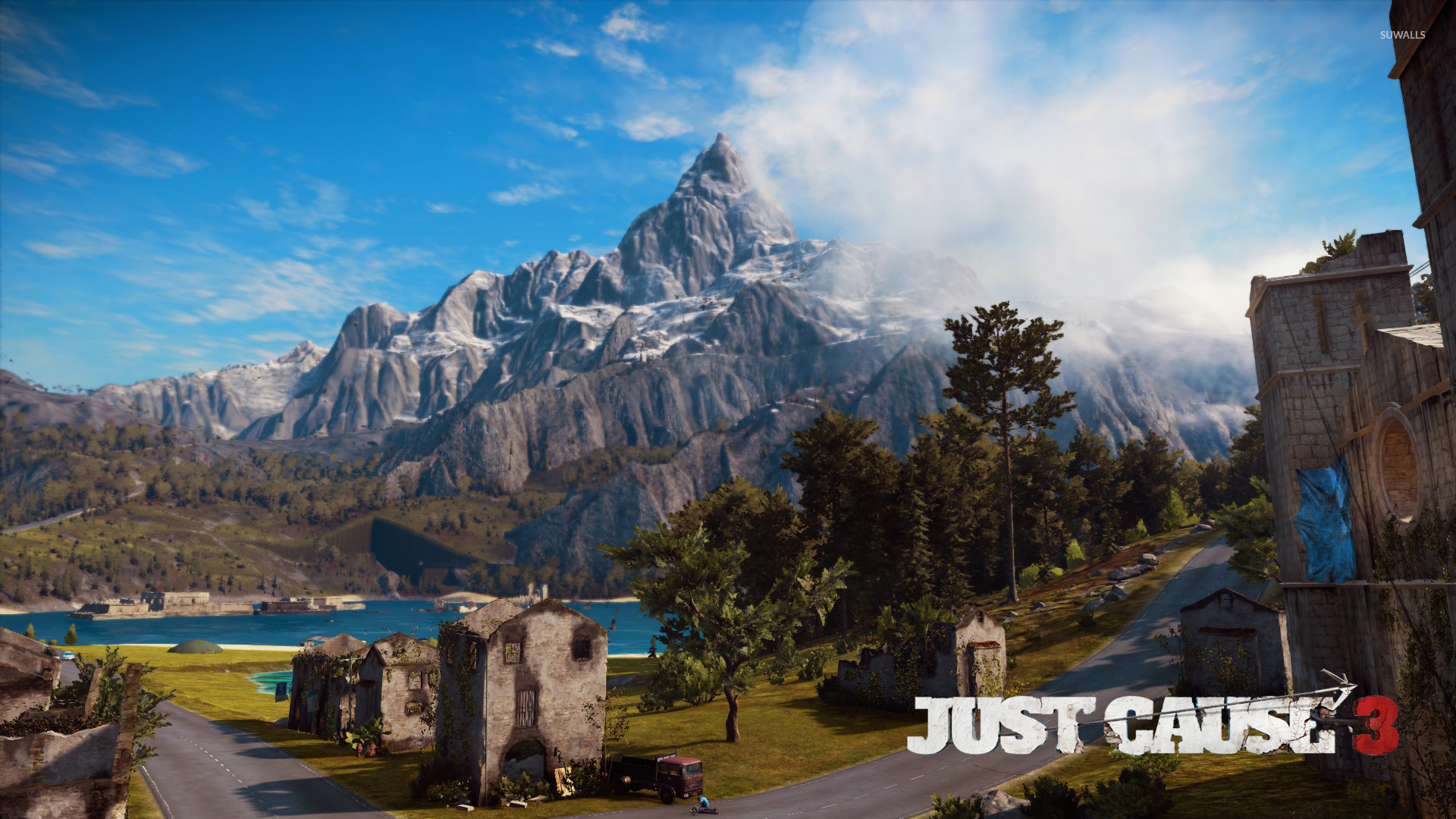 Typography Quotes Wallpaper Mountain In Medici Just Cause 3 Wallpaper Game