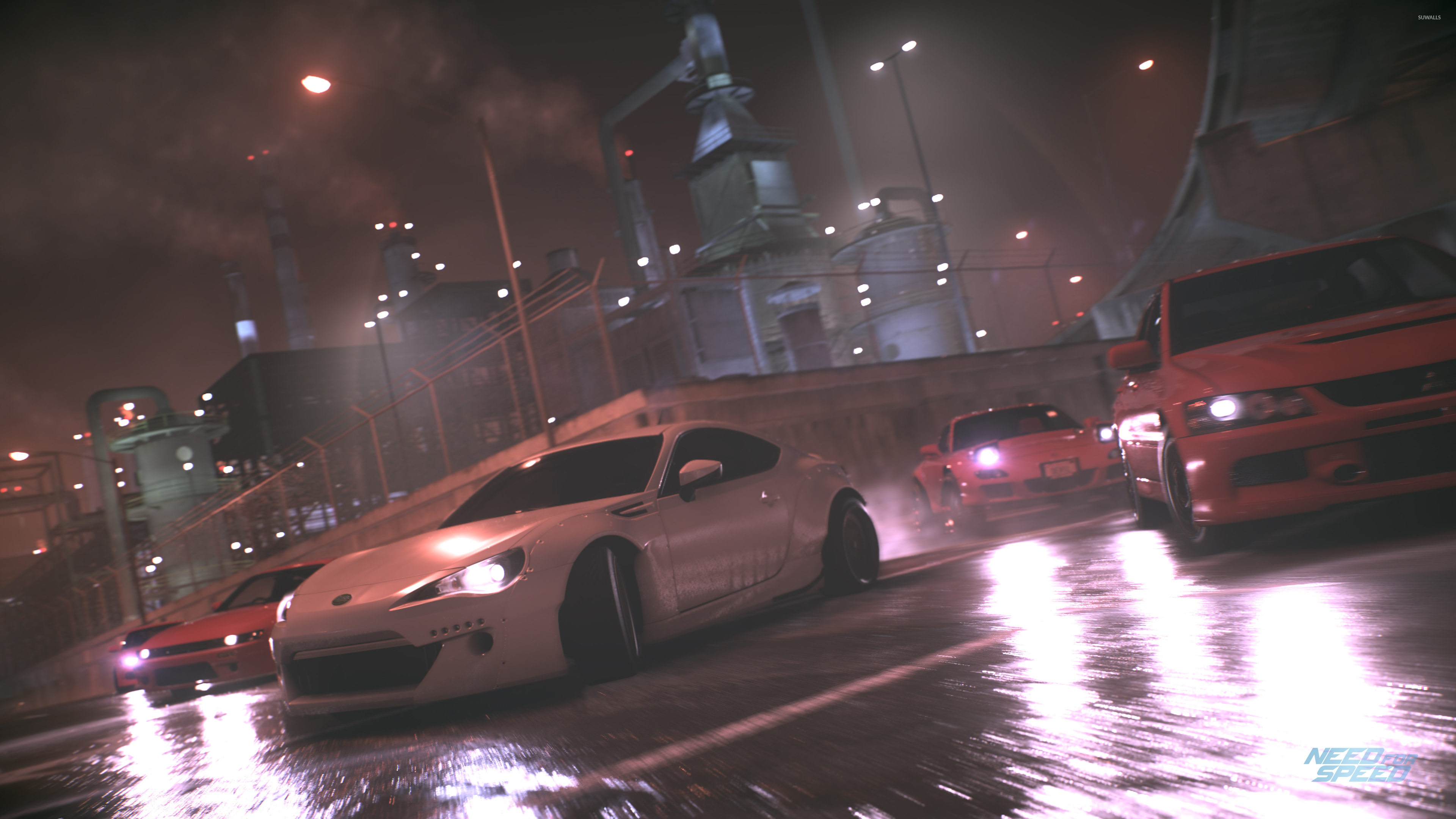Car Games Wallpapers Hd 1080p Race On The Wet Roads In Need For Speed Wallpaper Game