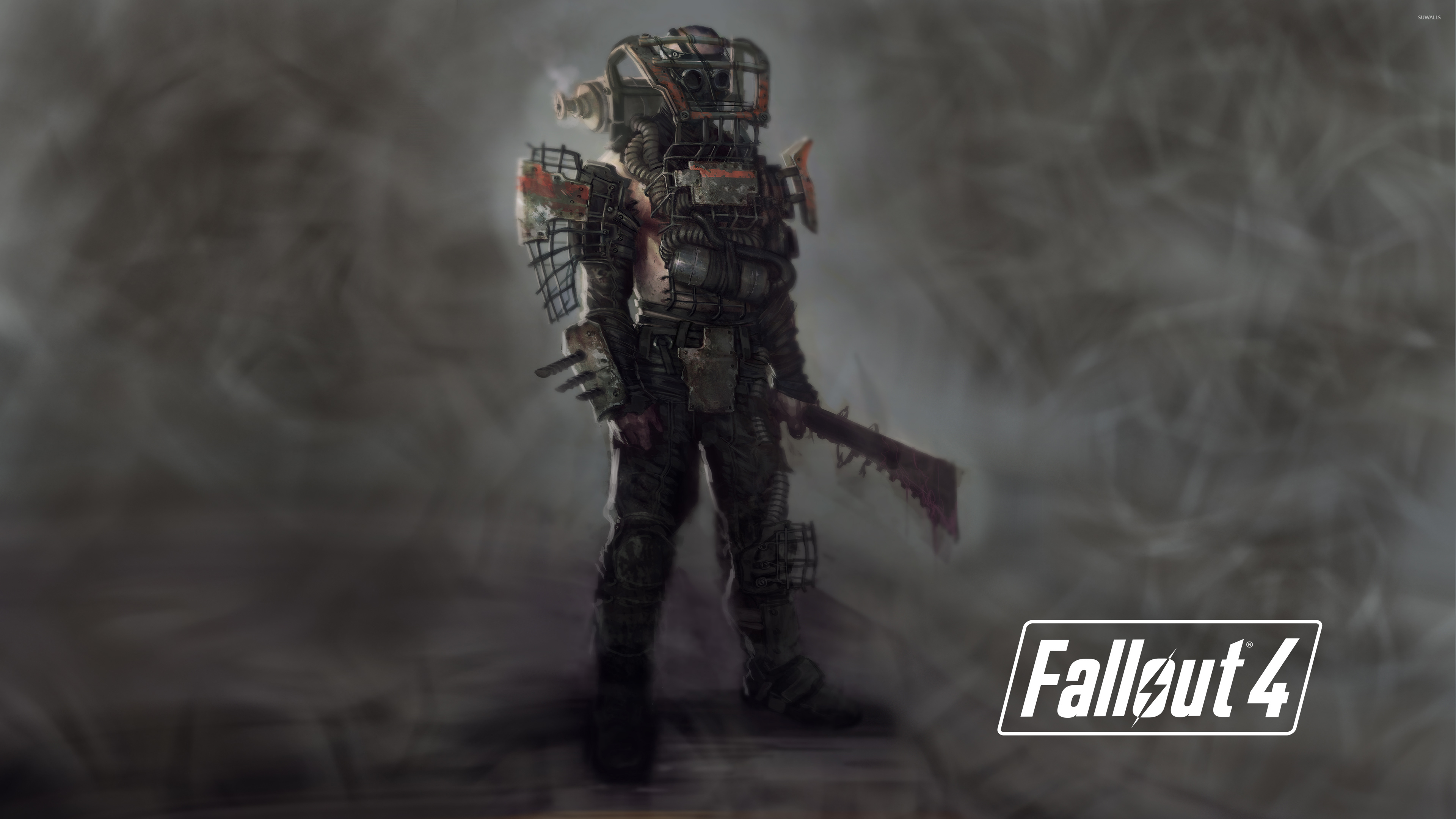 Fall Out Boy Game Wallpaper Raider In Fallout 4 Wallpaper Game Wallpapers 50130