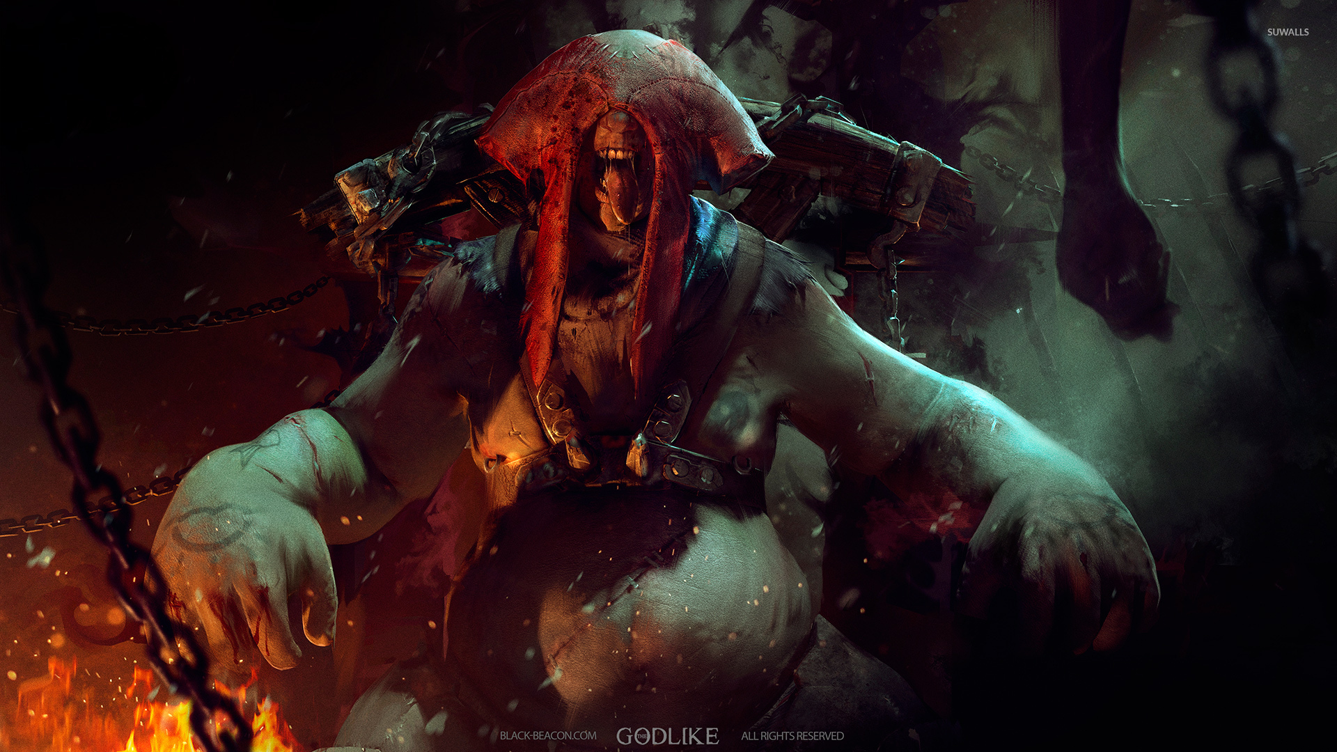 Anime Girl Epic Wallpapers Monster In The Godlike Wallpaper Game Wallpapers 51426