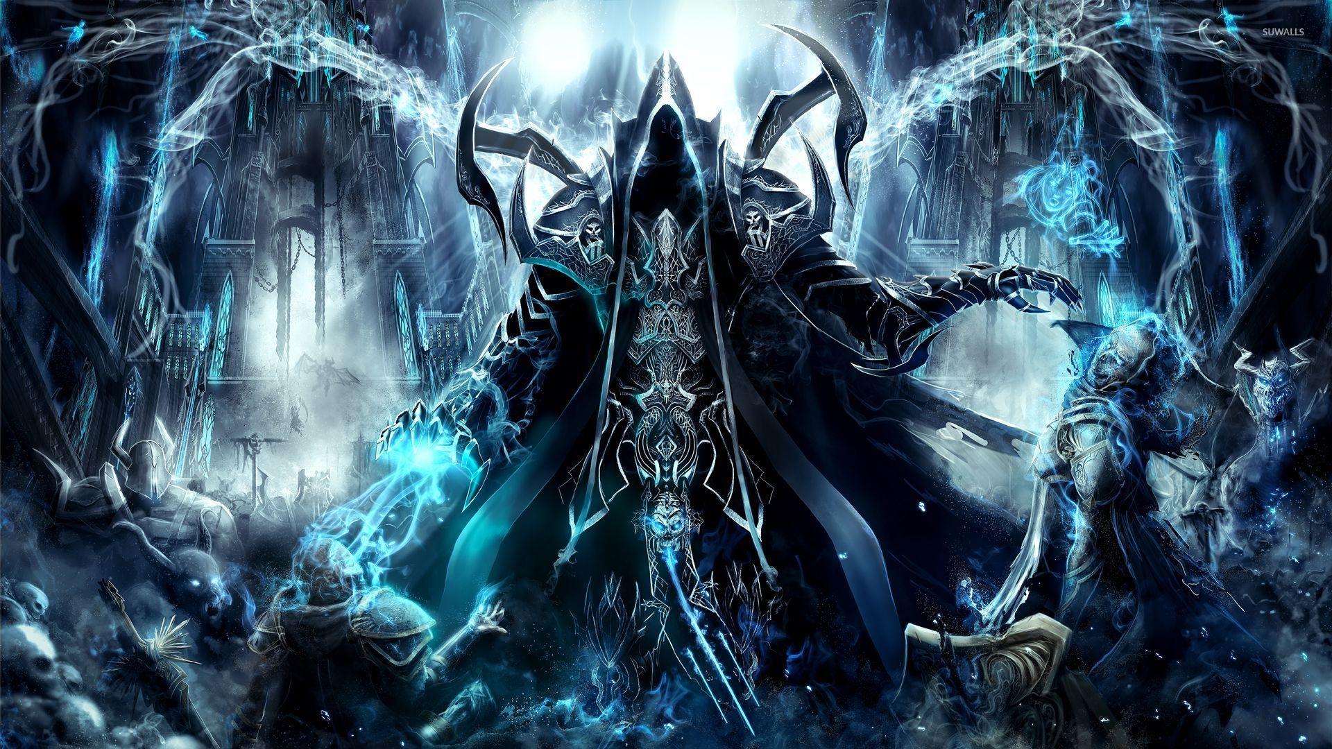 Skyrim Iphone X Wallpaper Wizard In Diablo Iii Reaper Of Souls Wallpaper Game