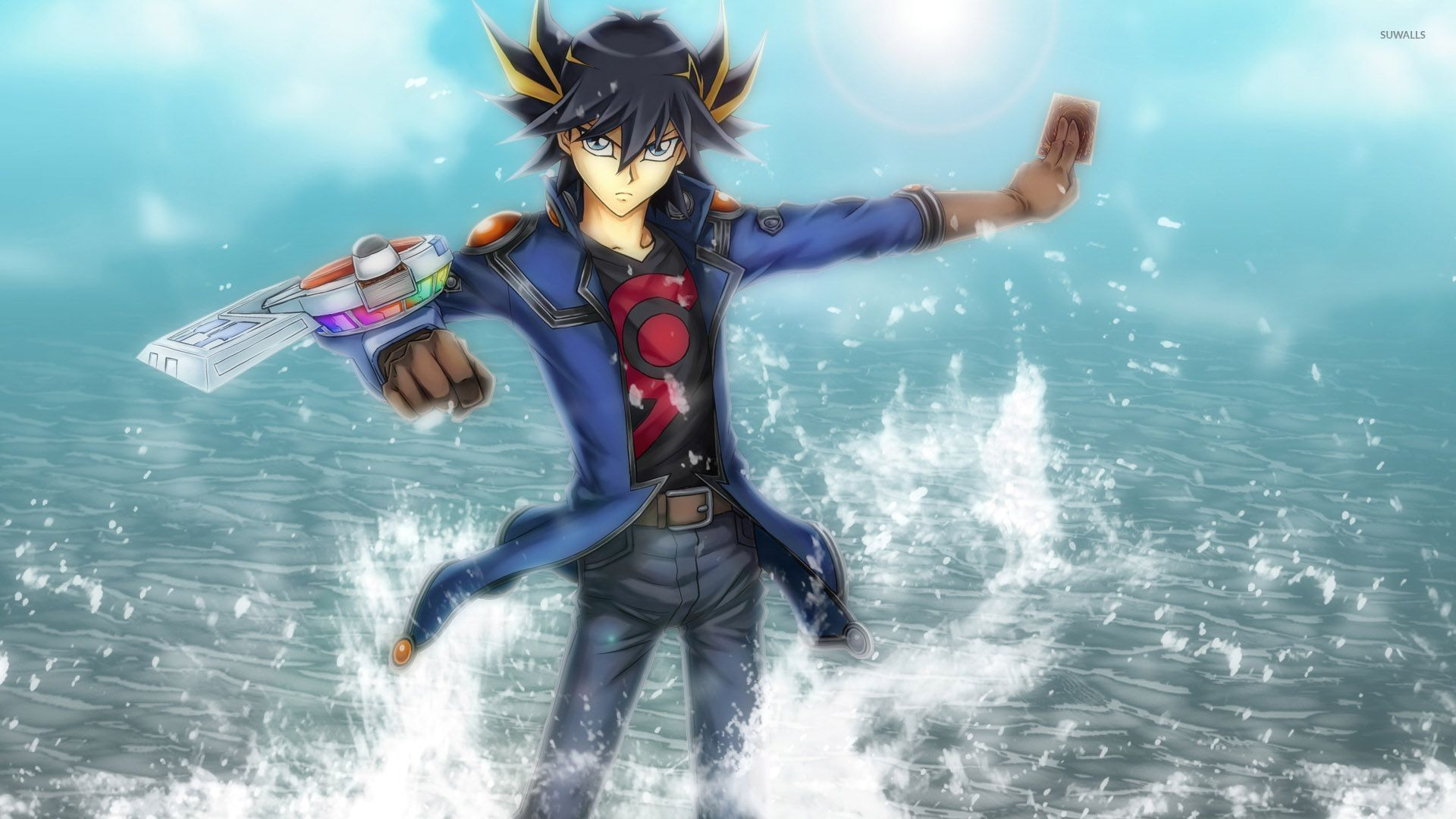 Yugioh Iphone Wallpaper Yusei Fudo Yu Gi Oh Wallpaper Game Wallpapers 30553