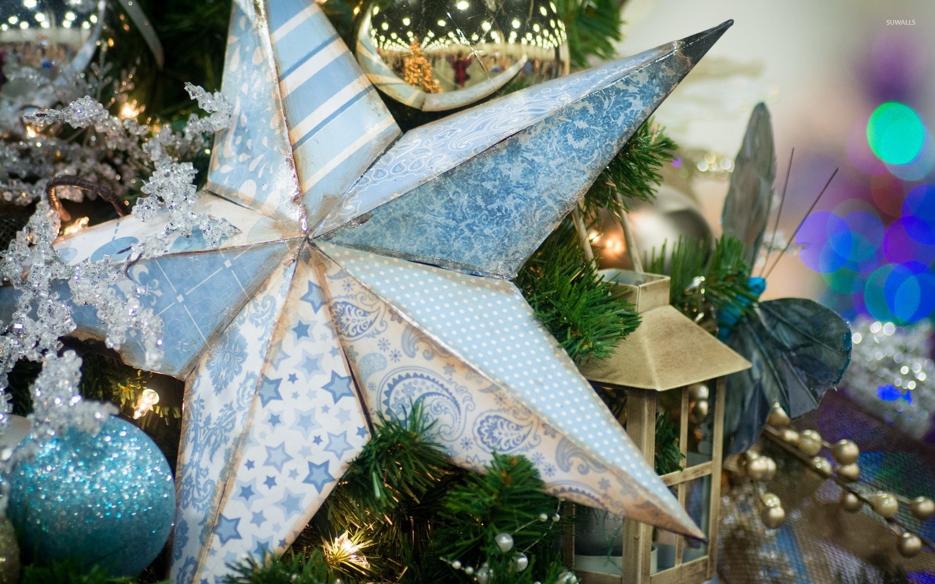 Light Pink Wallpaper Quotes Old Star In The Christmas Tree Wallpaper Holiday