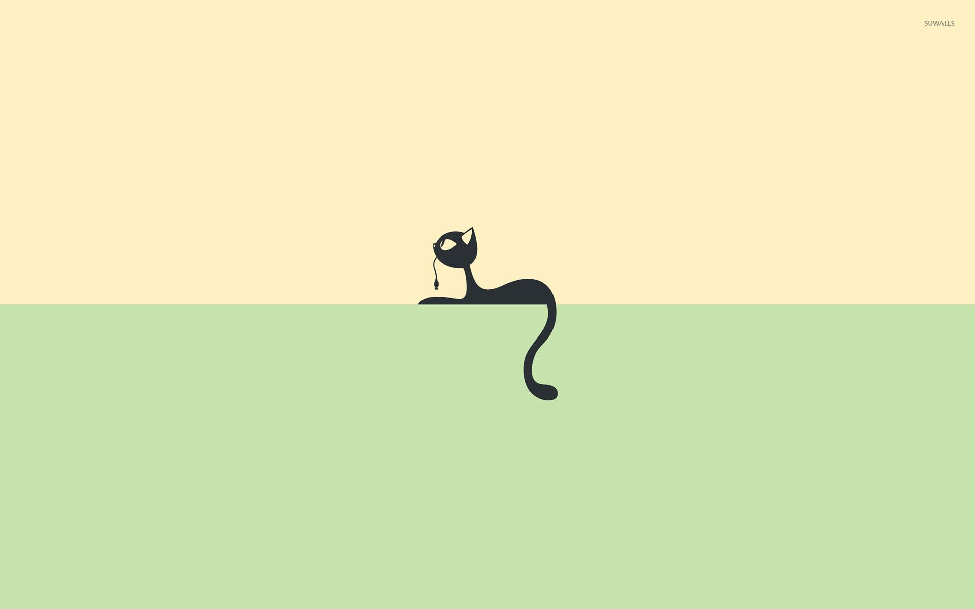 Game Of Thrones Quotes Desktop Wallpaper Black Cat On A Shelf Wallpaper Minimalistic Wallpapers