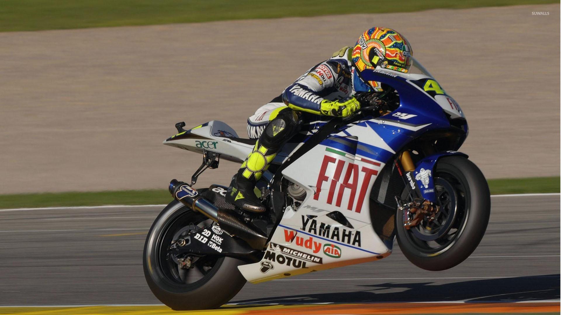 3d Wallpaper Motorcycle Wheelies Valentino Rossi Wallpapers 59 Wallpapers Hd Wallpapers