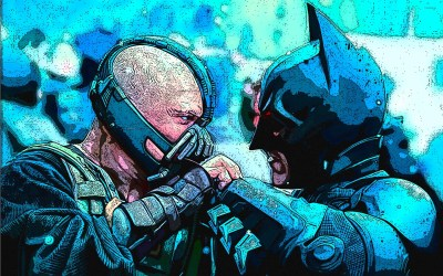 Batman vs Bane - The Dark Knight Rises wallpaper - Movie wallpapers - #33311