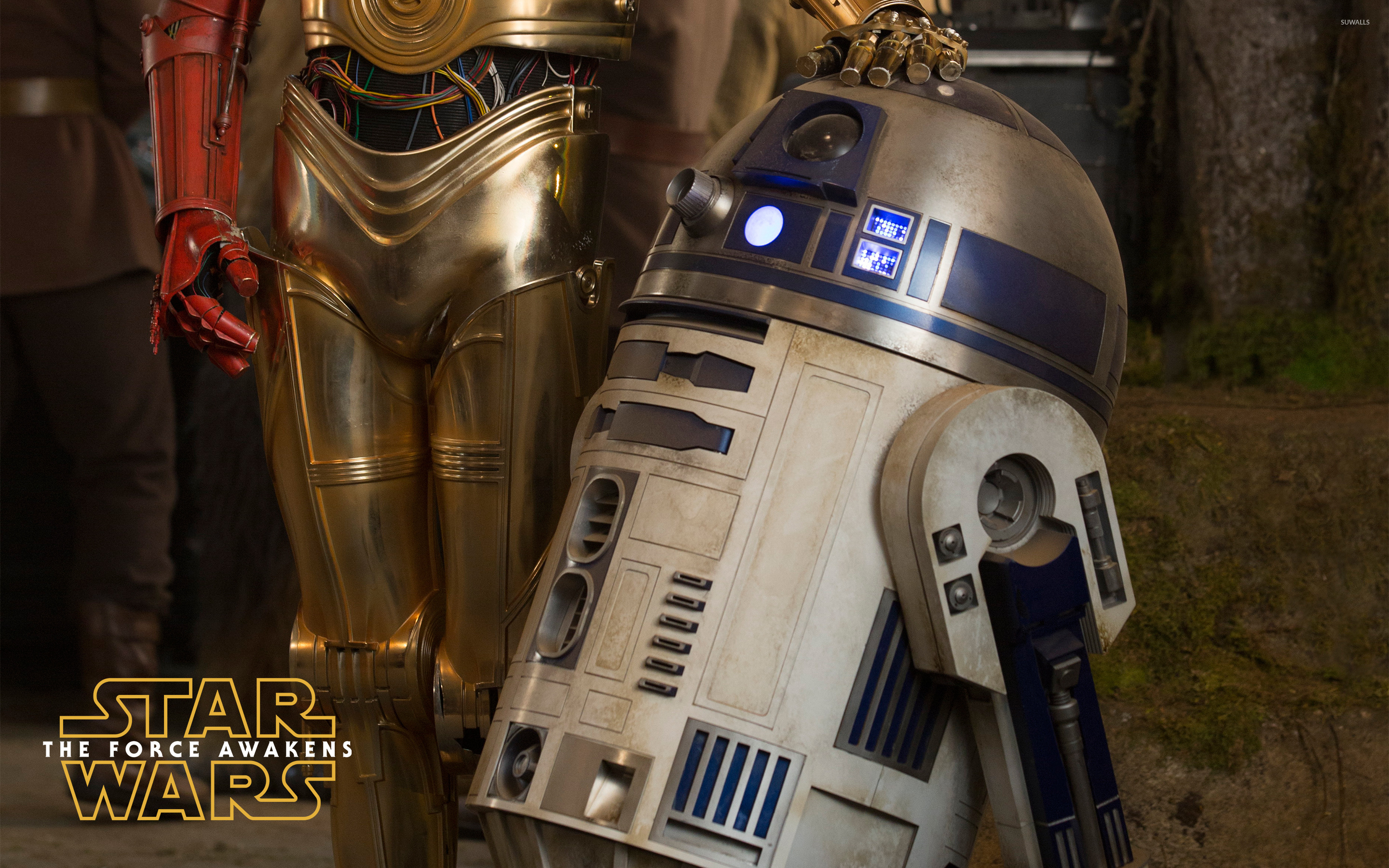 Dirty Harry Quotes Wallpaper R2 D2 In Star Wars The Force Awakens Wallpaper Movie