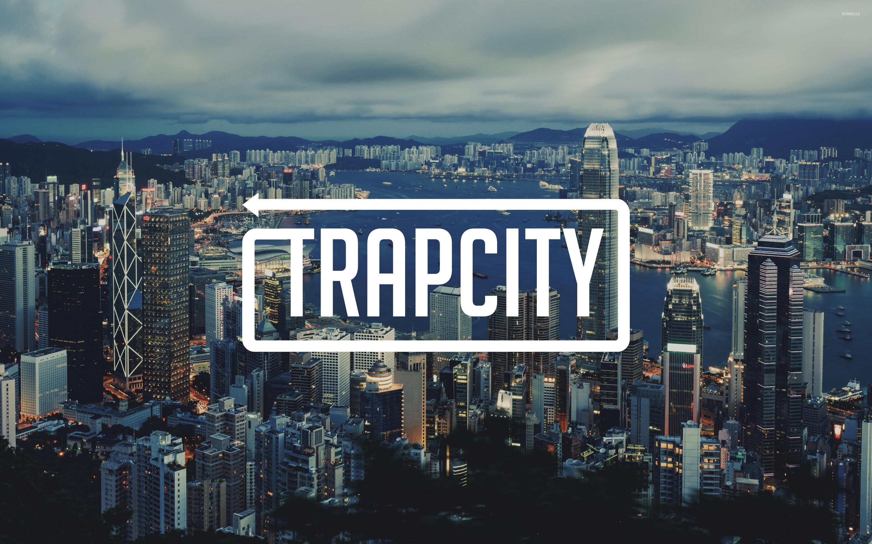 Music Quotes Wallpaper Guitar Trap City Over The Hong Kong Skyline Wallpaper Music