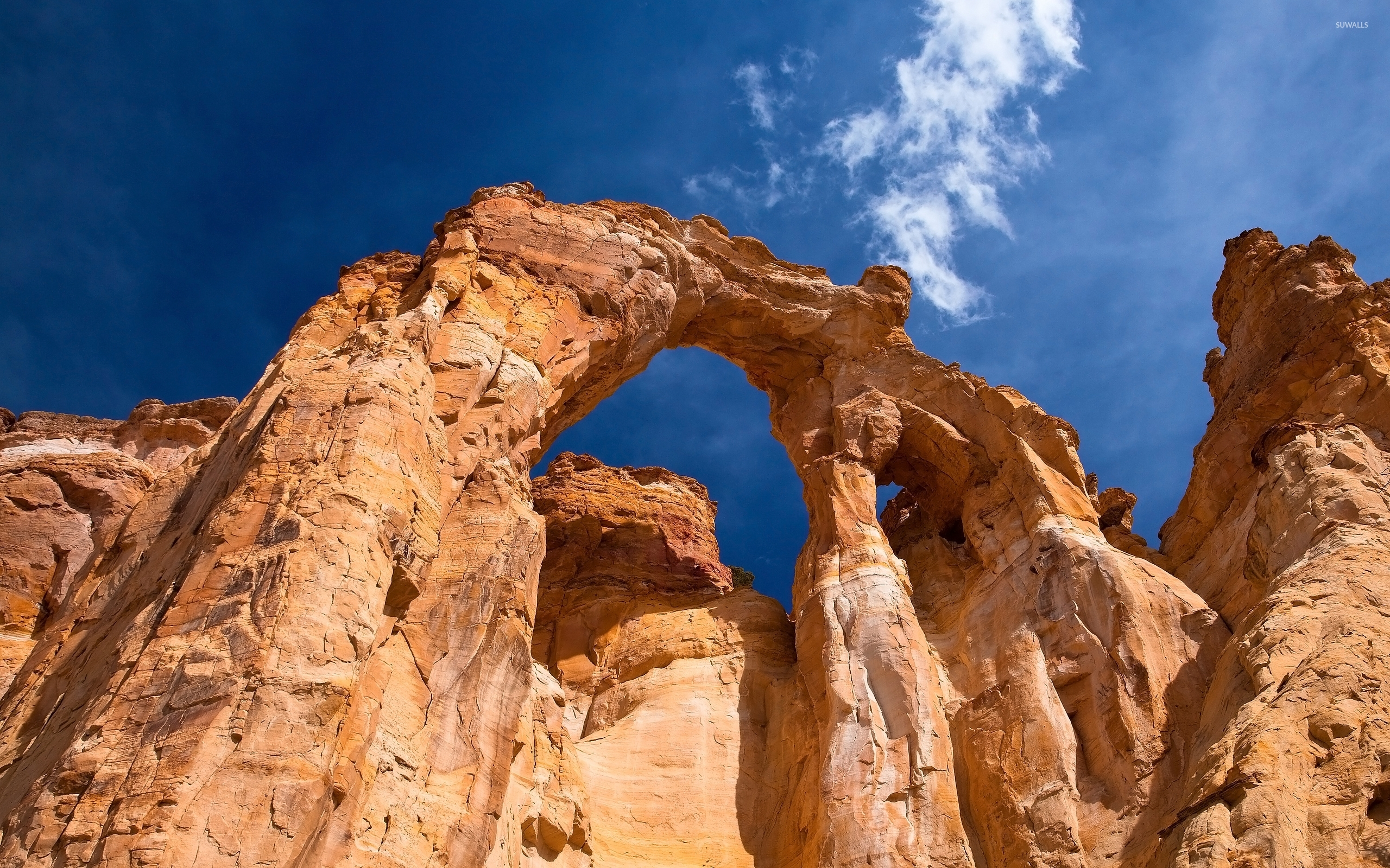 The Rock Quotes Wallpaper Hd Free Download Rusty Rocky Arch In Arches National Park Wallpaper