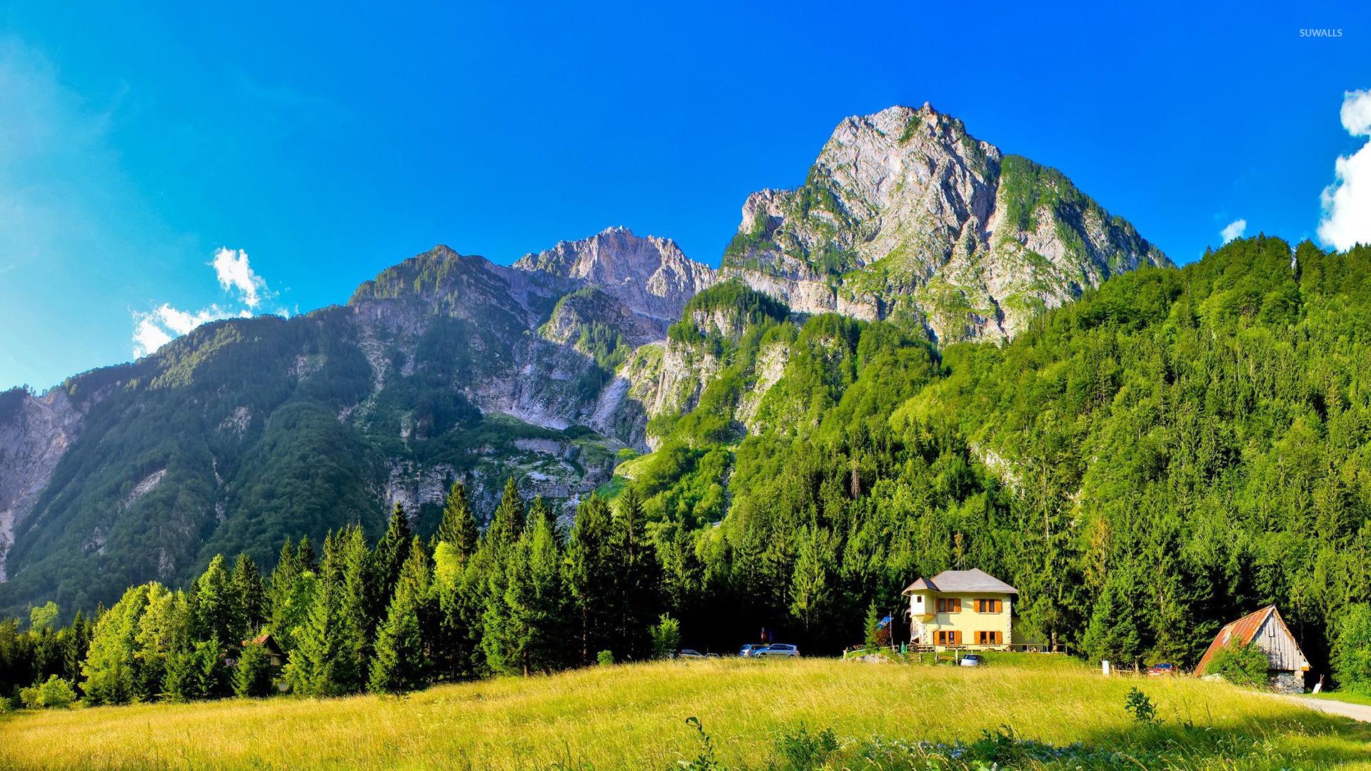 Free Fall Wallpaper 1920x1080 Slovenia Mountains Wallpaper Nature Wallpapers 33534