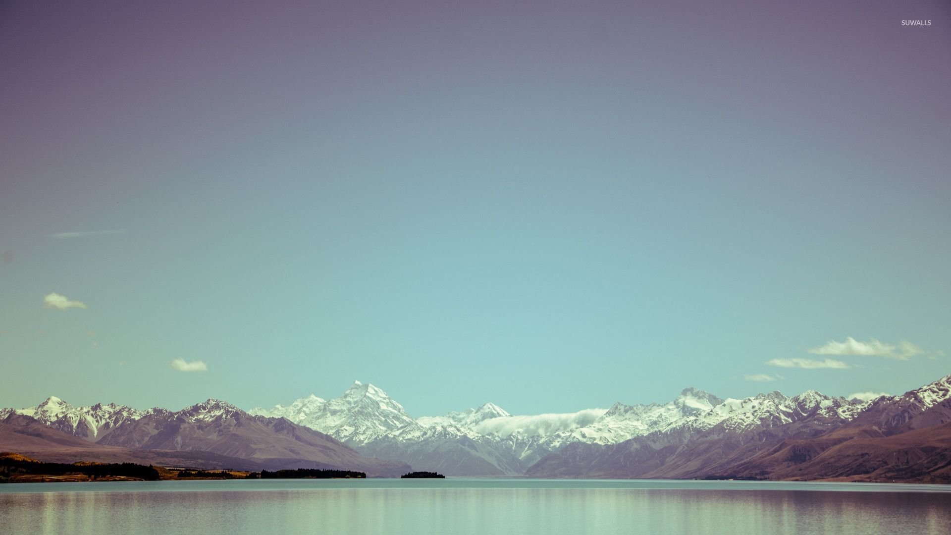 Fall Mountain Wallpaper Free Southern Alps New Zealand Wallpaper Nature Wallpapers
