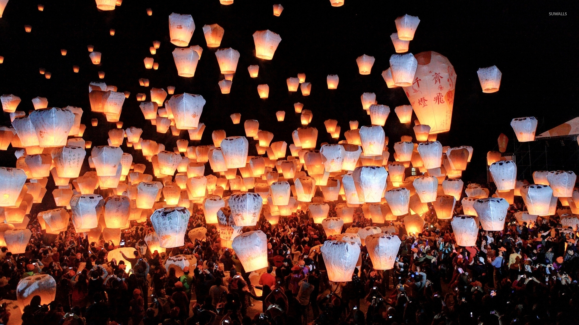 Sky Lanterns Wallpaper Iphone Sky Lanterns Wallpaper Photography Wallpapers 47912