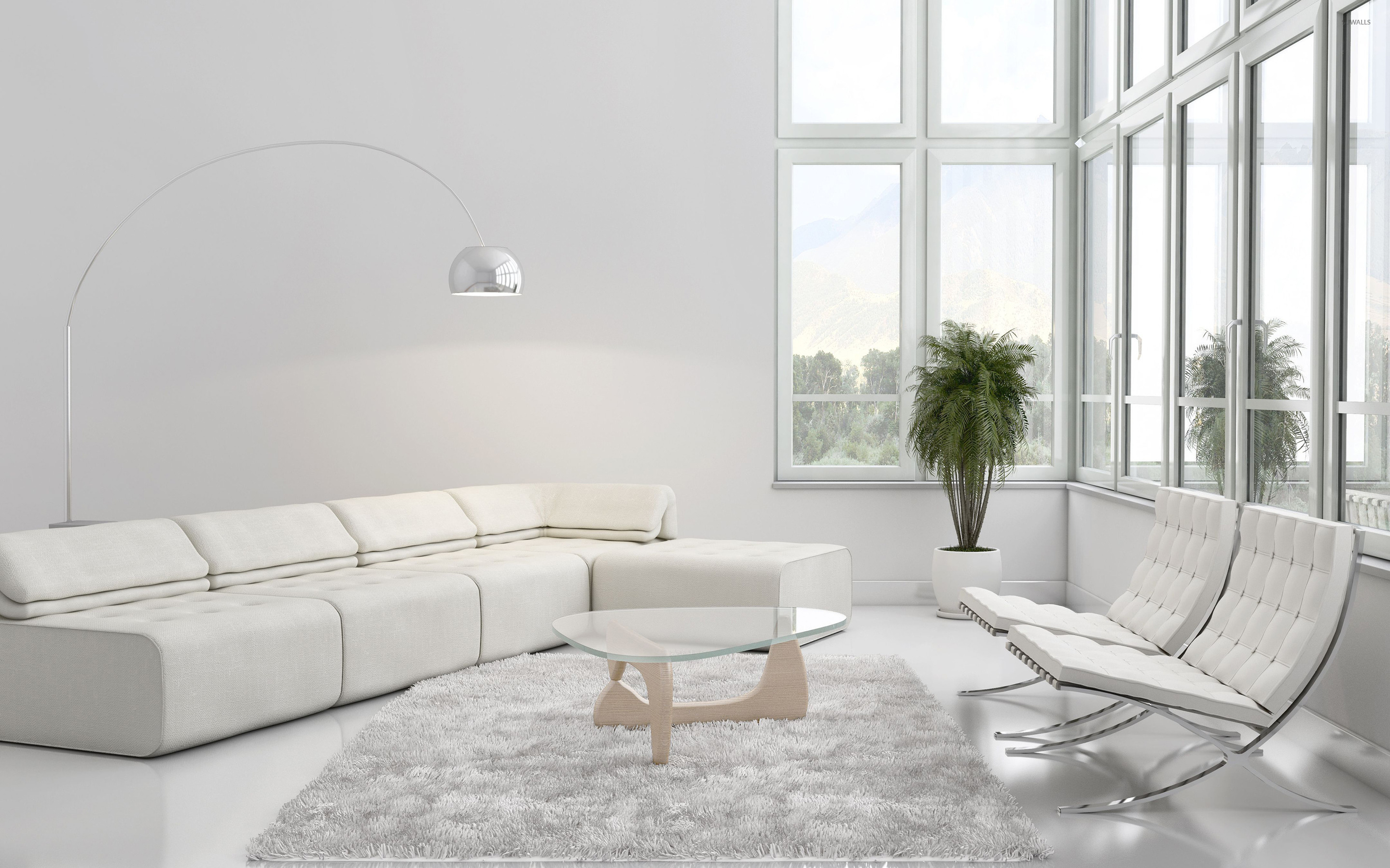 White On White Living Room Elegant White Living Rooms