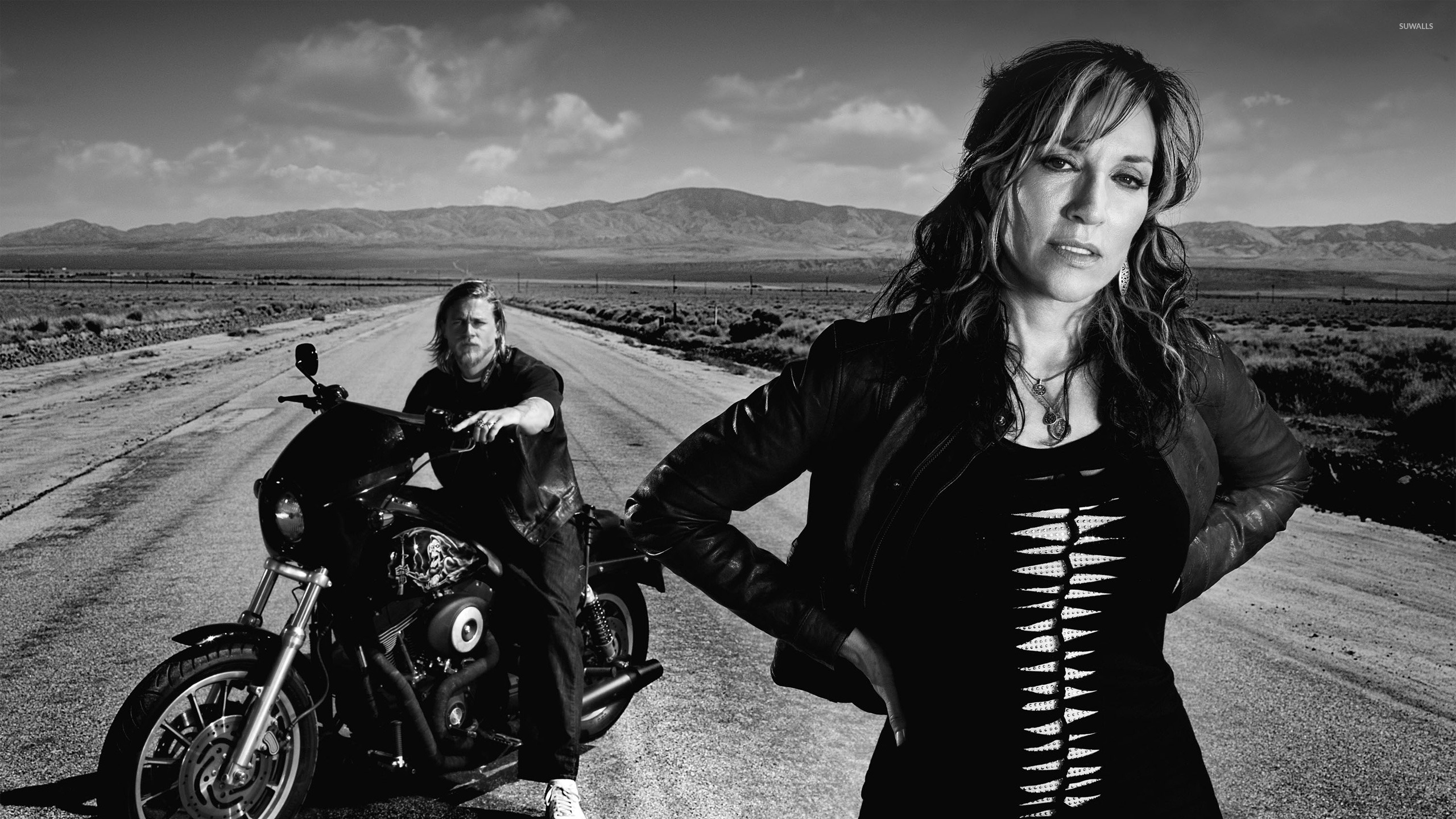 Bikers Quotes Wallpapers Gemma And Jax Sons Of Anarchy Wallpaper Tv Show