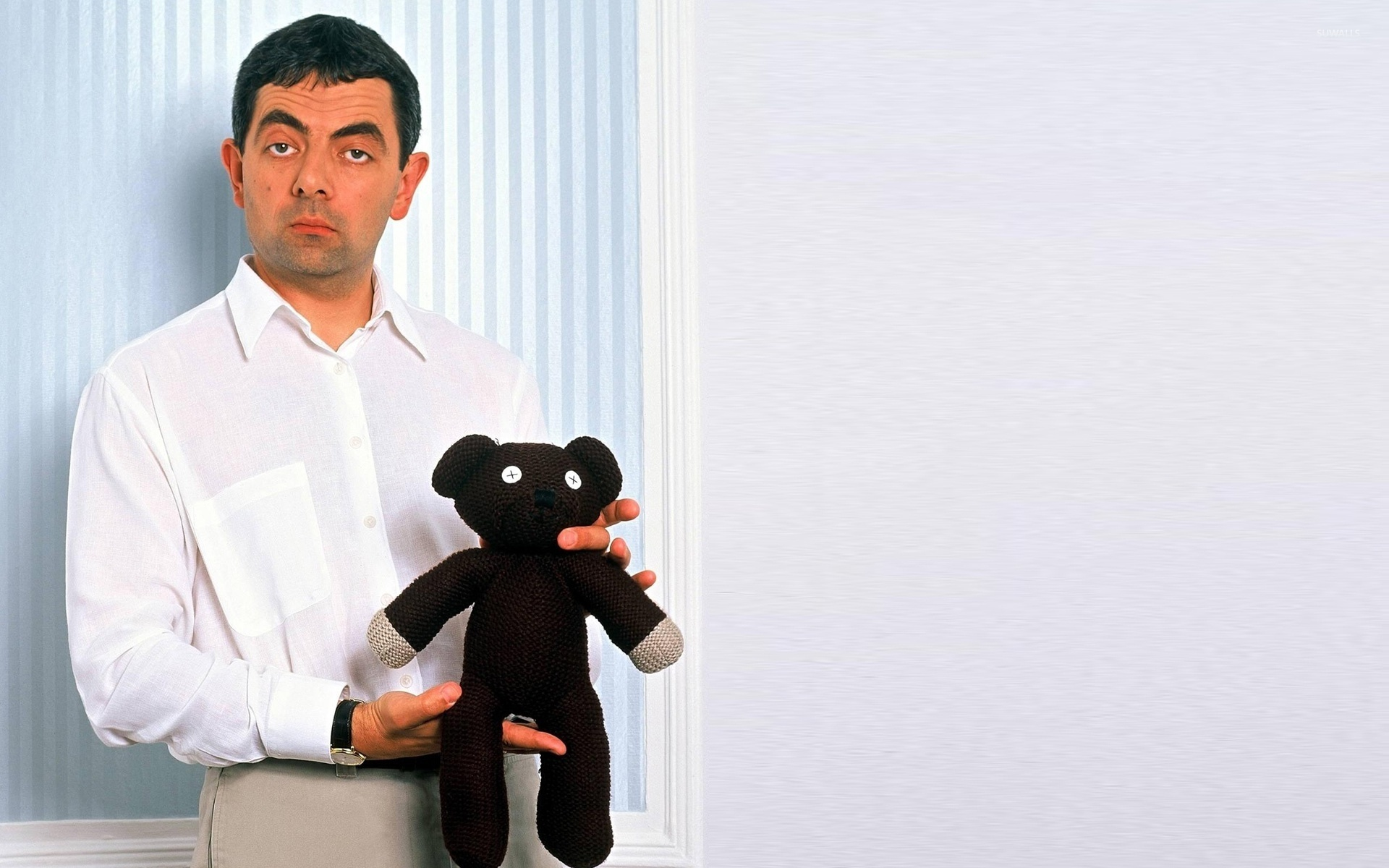 Game Of Thrones Quotes Wallpaper 1920x1080 Mr Bean With His Teddy Bear Wallpaper Tv Show