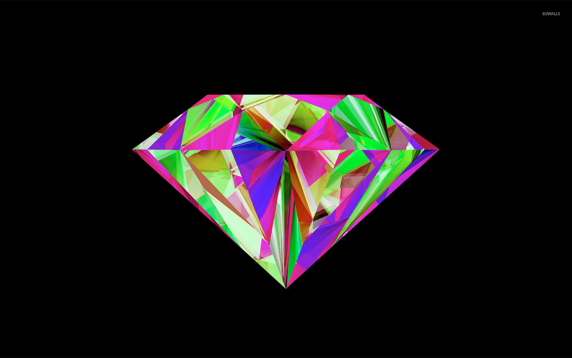 Fall Desktop Mountain Wallpaper Colorful Diamond Wallpaper Vector Wallpapers 31520