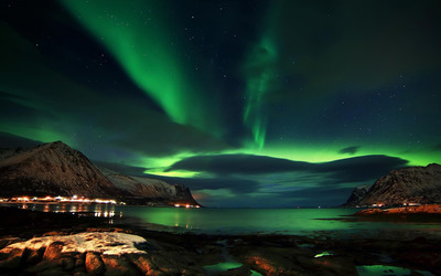 Aurora above Lofoten wallpaper - World wallpapers - #48358