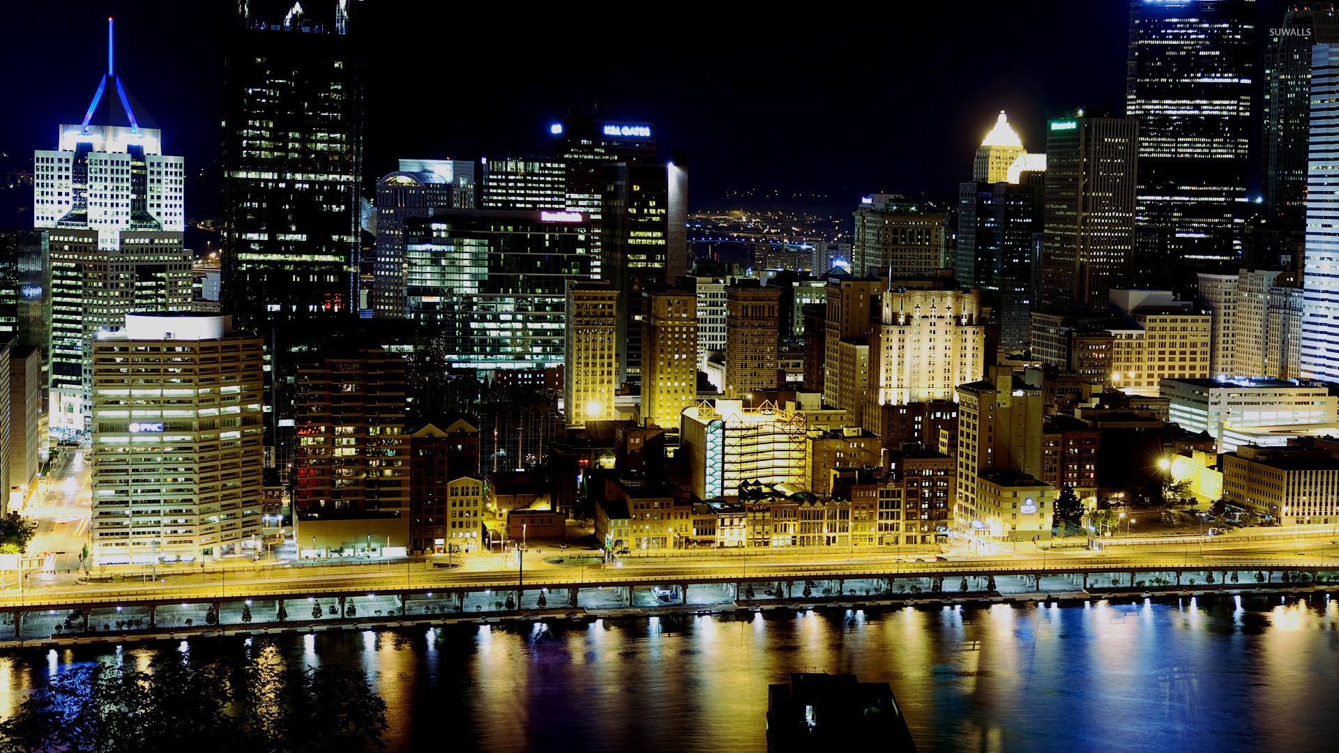 Steelers Wallpaper Hd Pittsburgh Skyline Wallpaper World Wallpapers 30311