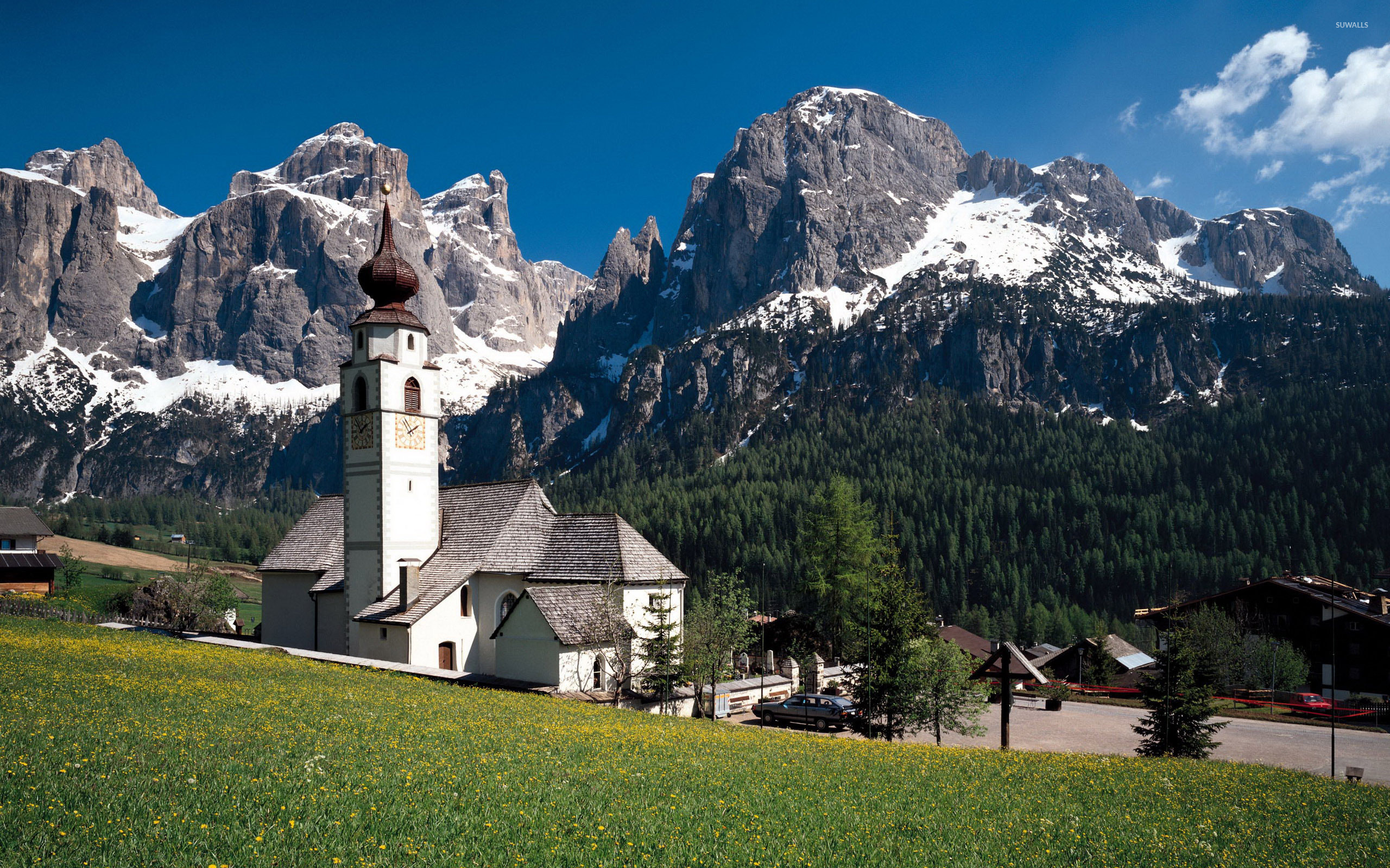 Free Fall Desktop Wallpaper Downloads White Church In The Rocky Mountains Wallpaper World