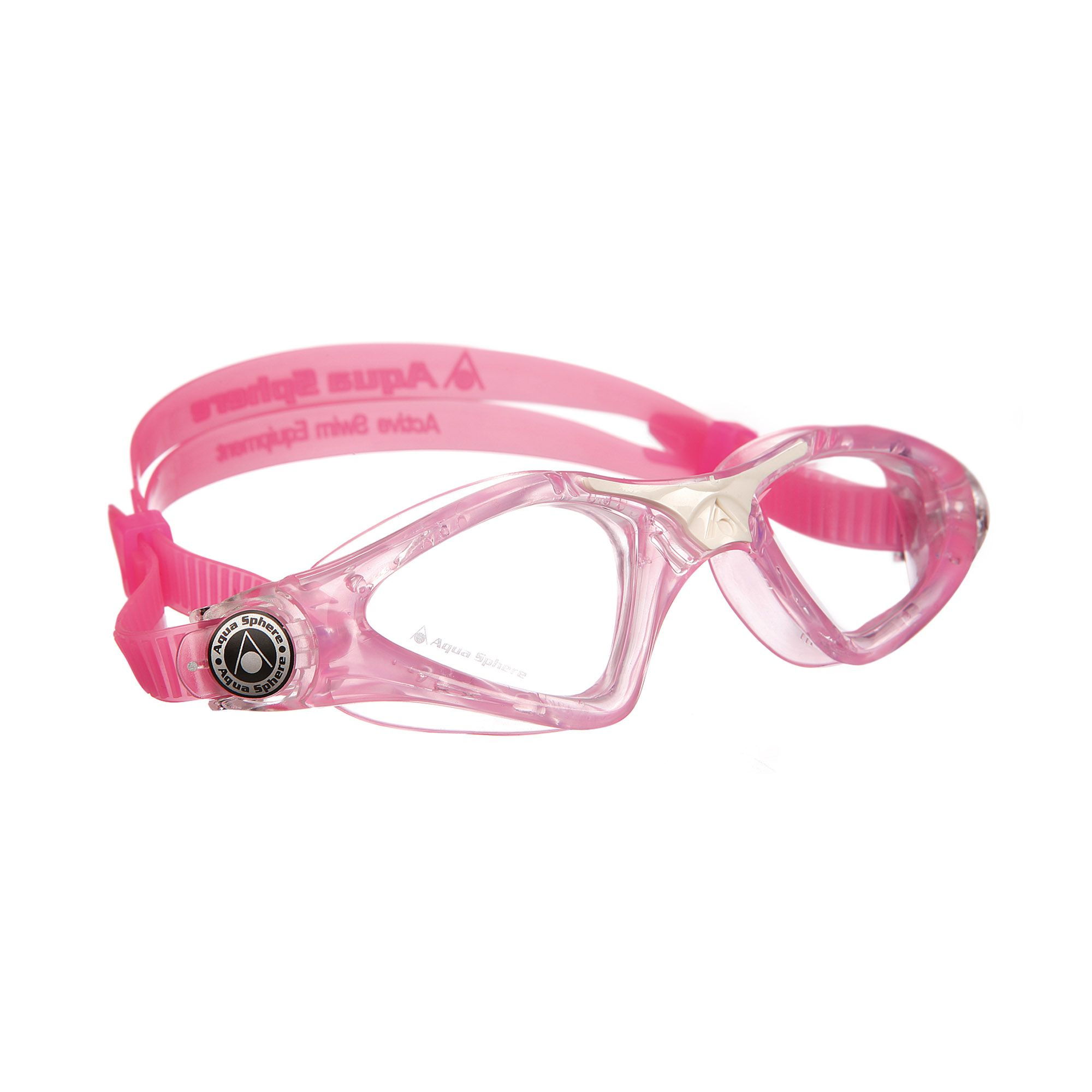 Decathlon Occhialini Piscina Aqua Sphere Kayenne Junior Goggles With Clear Lens
